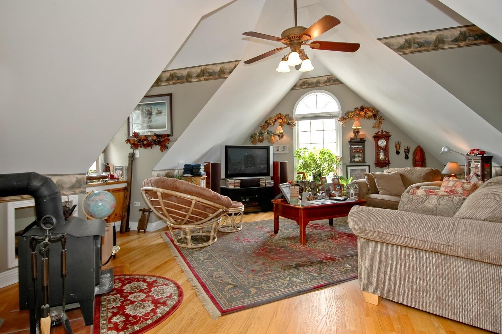 Real Estate Photography - 767 North Shore, Crystal Lake, IL, 60014 - Garage Loft