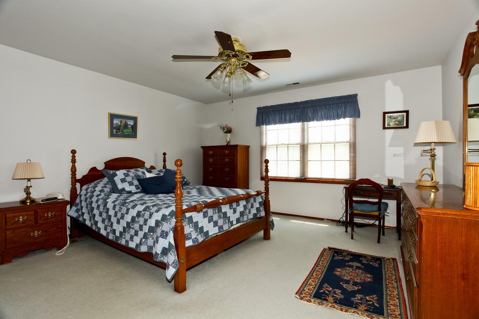 Real Estate Photography - 114 Millington, Unit 114, Saint Charles, IL, 60174 - Master Bedroom