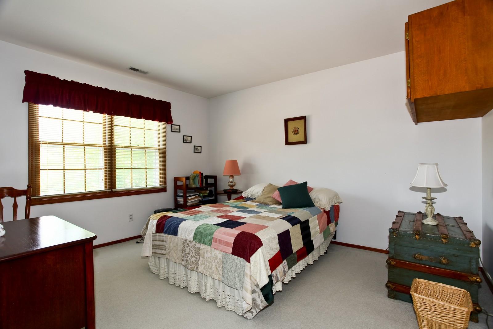 Real Estate Photography - 114 Millington, Unit 114, Saint Charles, IL, 60174 - Bedroom