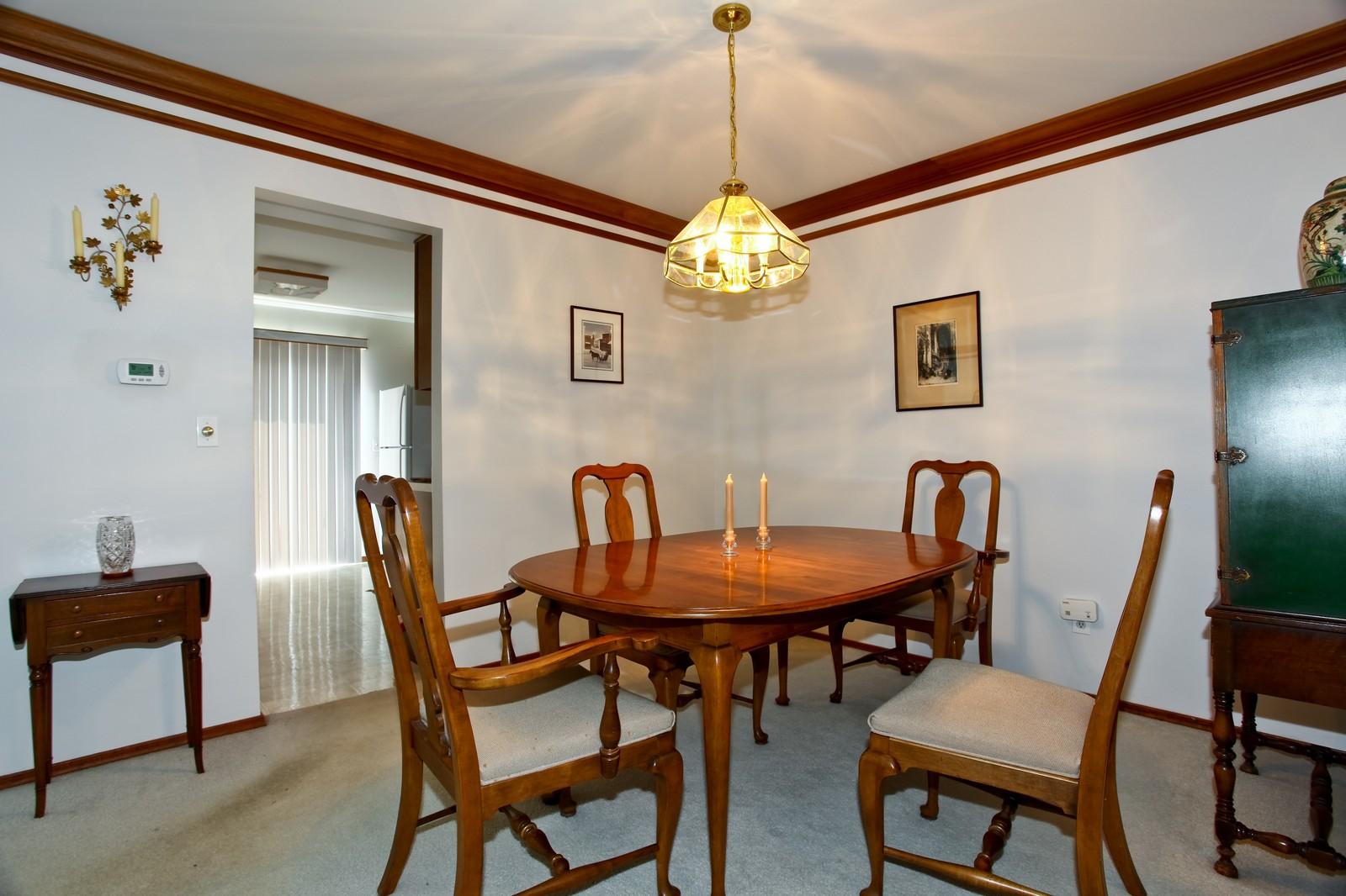 Real Estate Photography - 114 Millington, Unit 114, Saint Charles, IL, 60174 - Dining Room