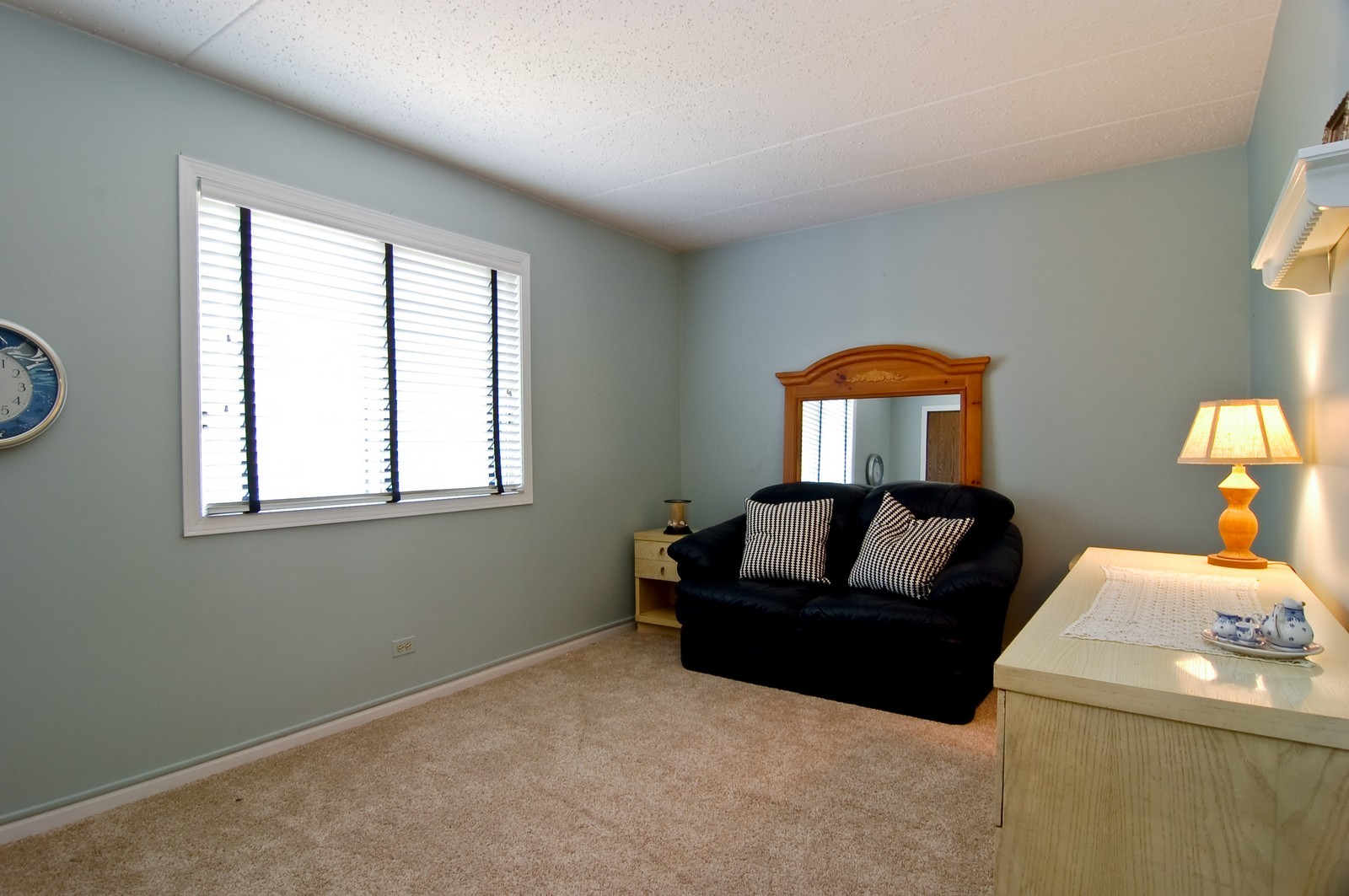 Real Estate Photography - 466 S President, Unit 204, Carol Stream, IL, 60188 - Guest Bedroom