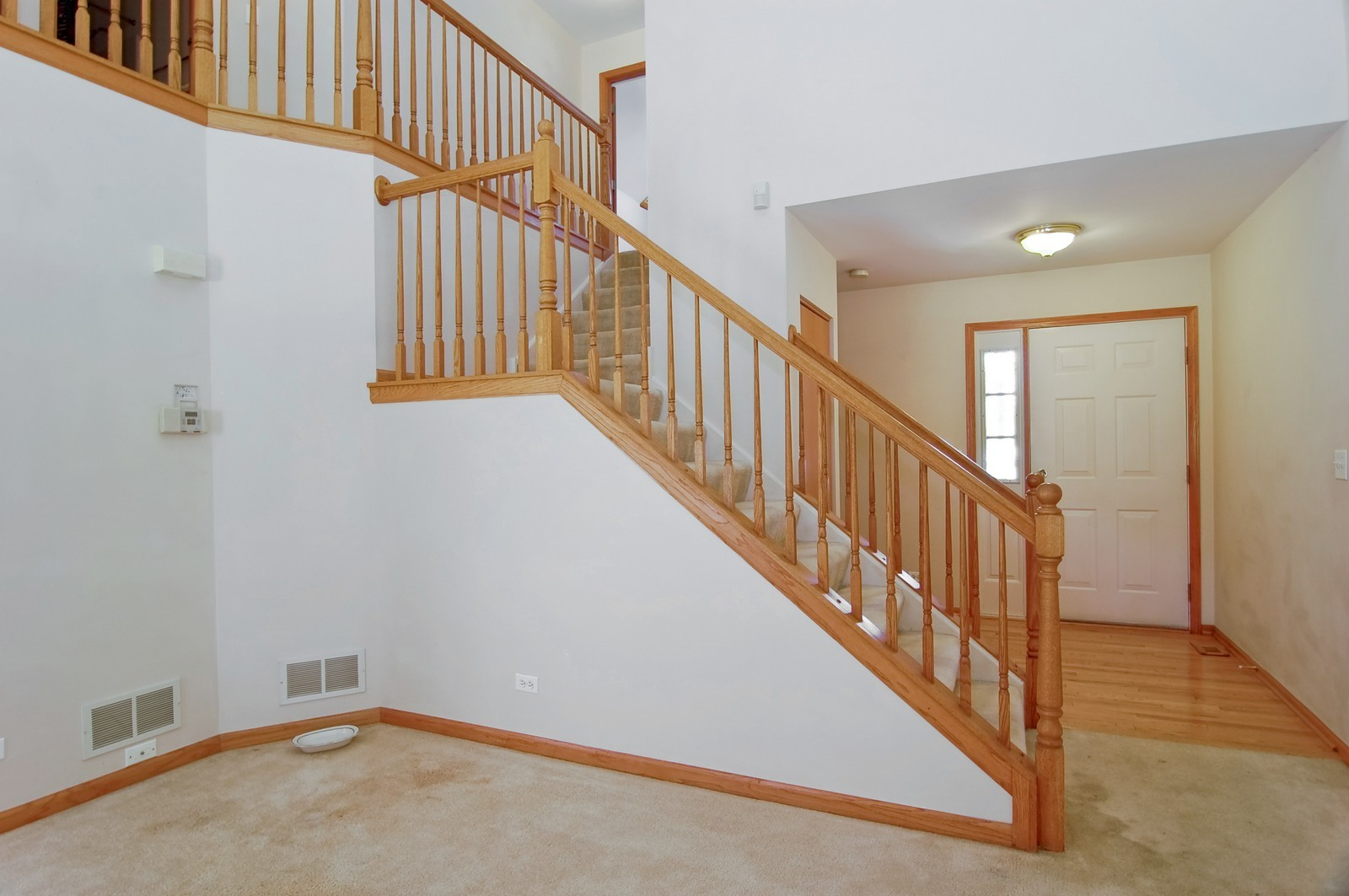 Real Estate Photography - 918 Jacob, West Chicago, IL, 60185 - Staircase