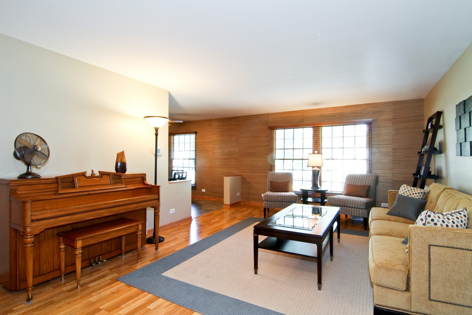 Real Estate Photography - 89 N Ott, Glen Ellyn, IL, 60137 - Living Room