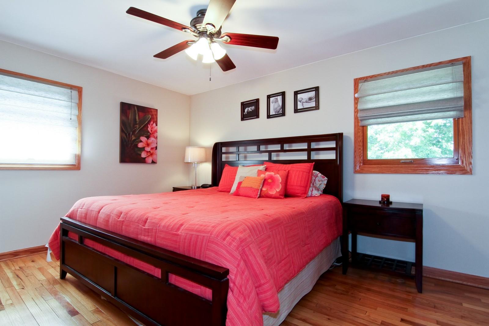 Real Estate Photography - 89 N Ott, Glen Ellyn, IL, 60137 - Master Bedroom
