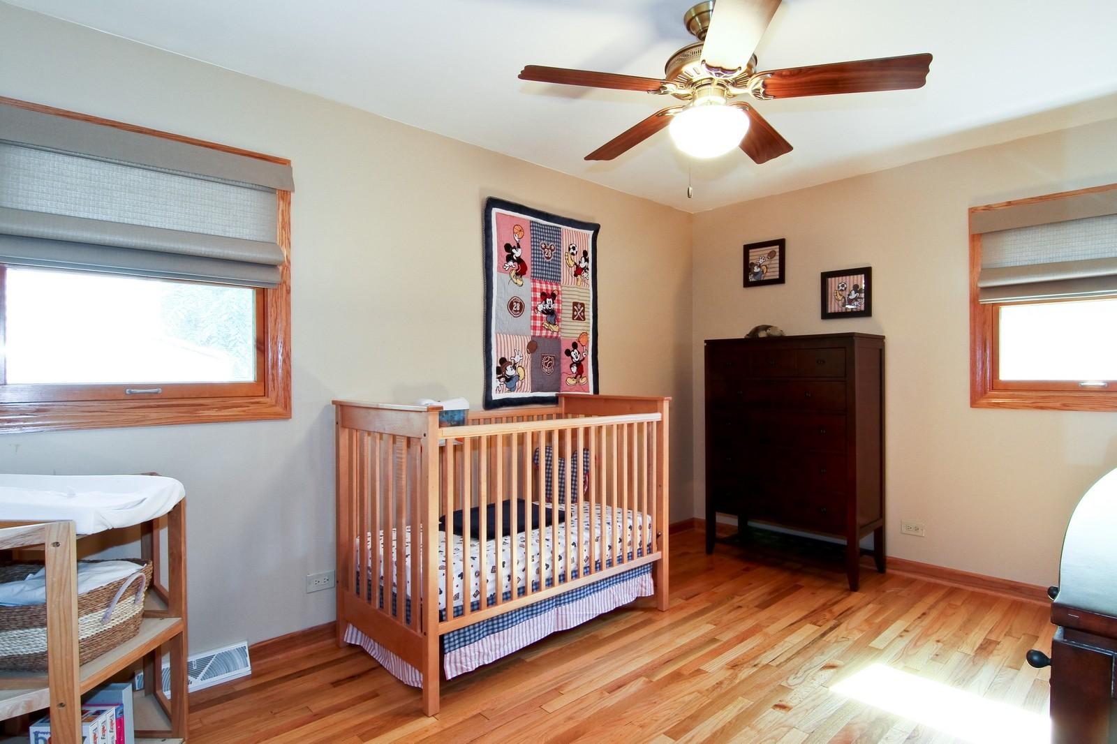 Real Estate Photography - 89 N Ott, Glen Ellyn, IL, 60137 - 2nd Bedroom
