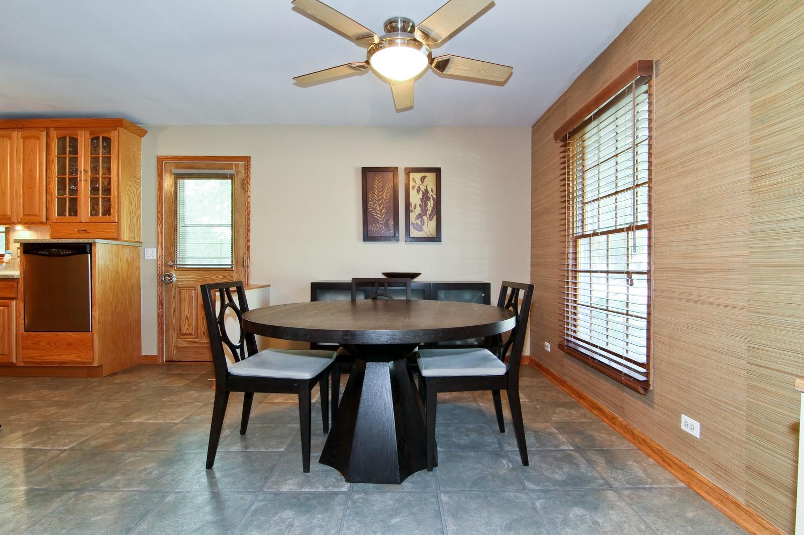 Real Estate Photography - 89 N Ott, Glen Ellyn, IL, 60137 - Dining Room