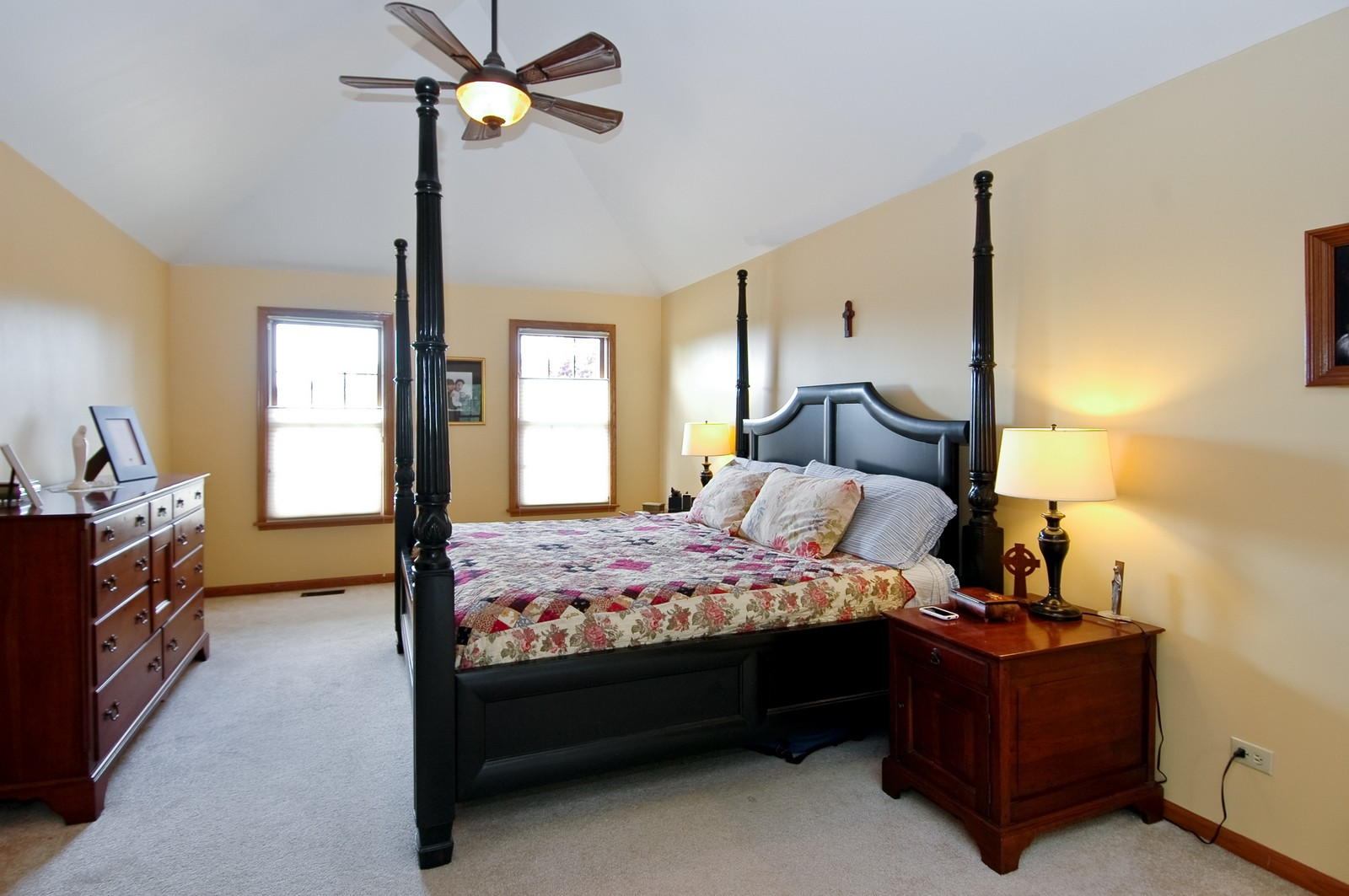 Real Estate Photography - 3500 Persimmon Dr, Algonquin, IL, 60102 - Master Bedroom