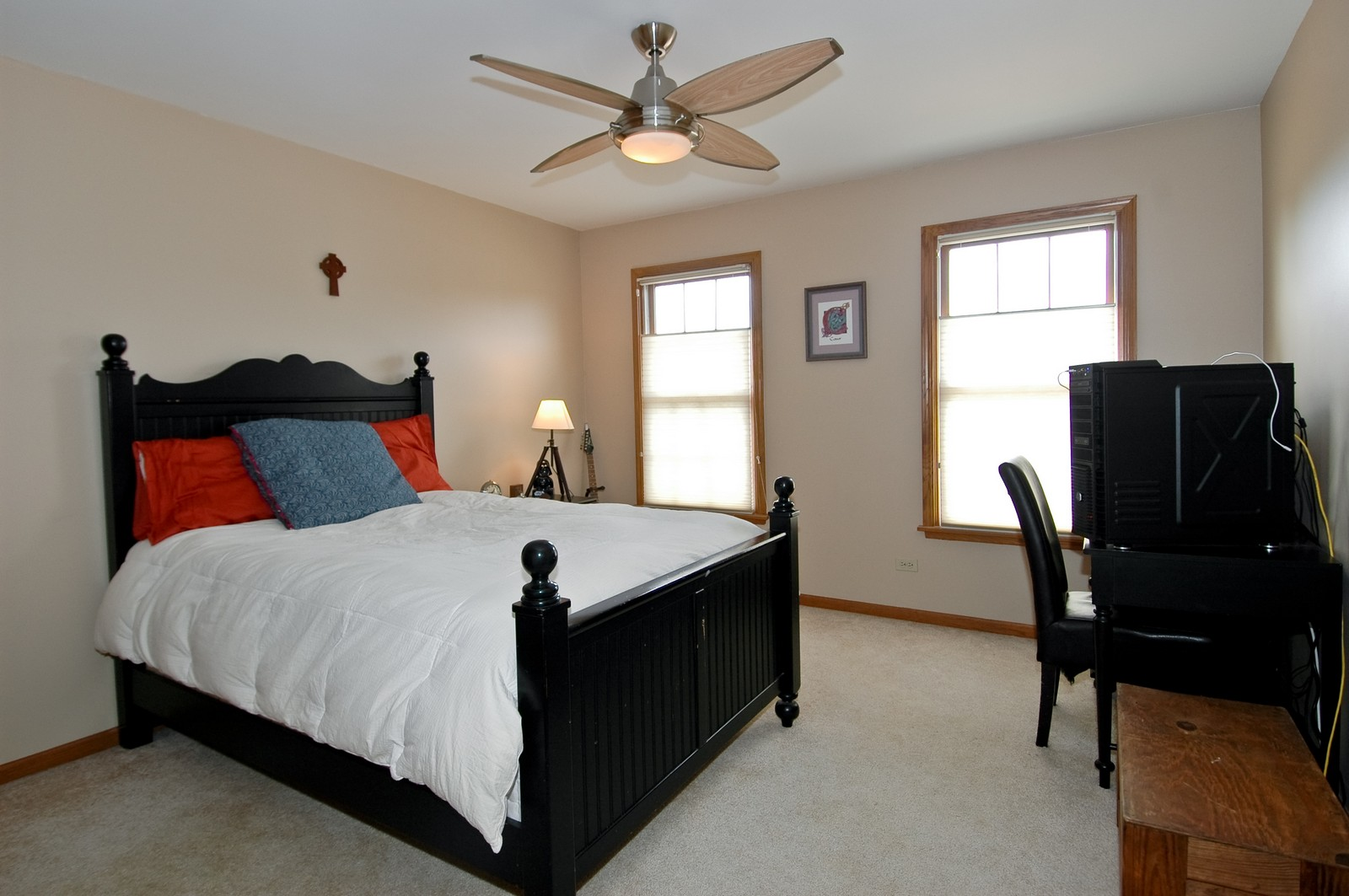 Real Estate Photography - 3500 Persimmon Dr, Algonquin, IL, 60102 - 3rd Bedroom