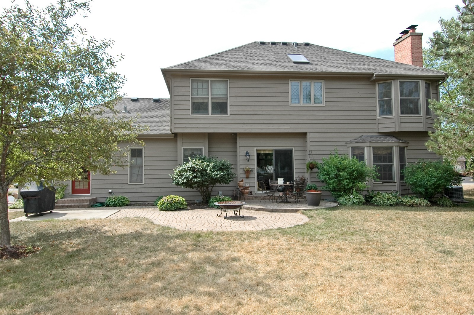 Real Estate Photography - 3500 Persimmon Dr, Algonquin, IL, 60102 - Rear View