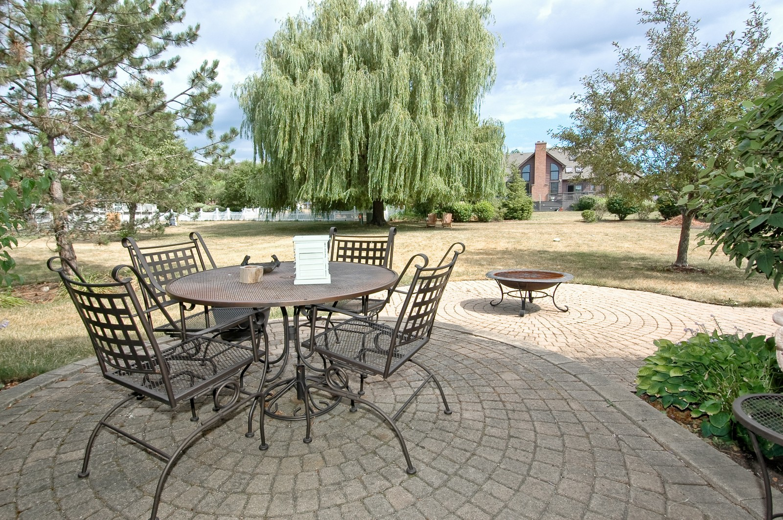 Real Estate Photography - 3500 Persimmon Dr, Algonquin, IL, 60102 - Patio