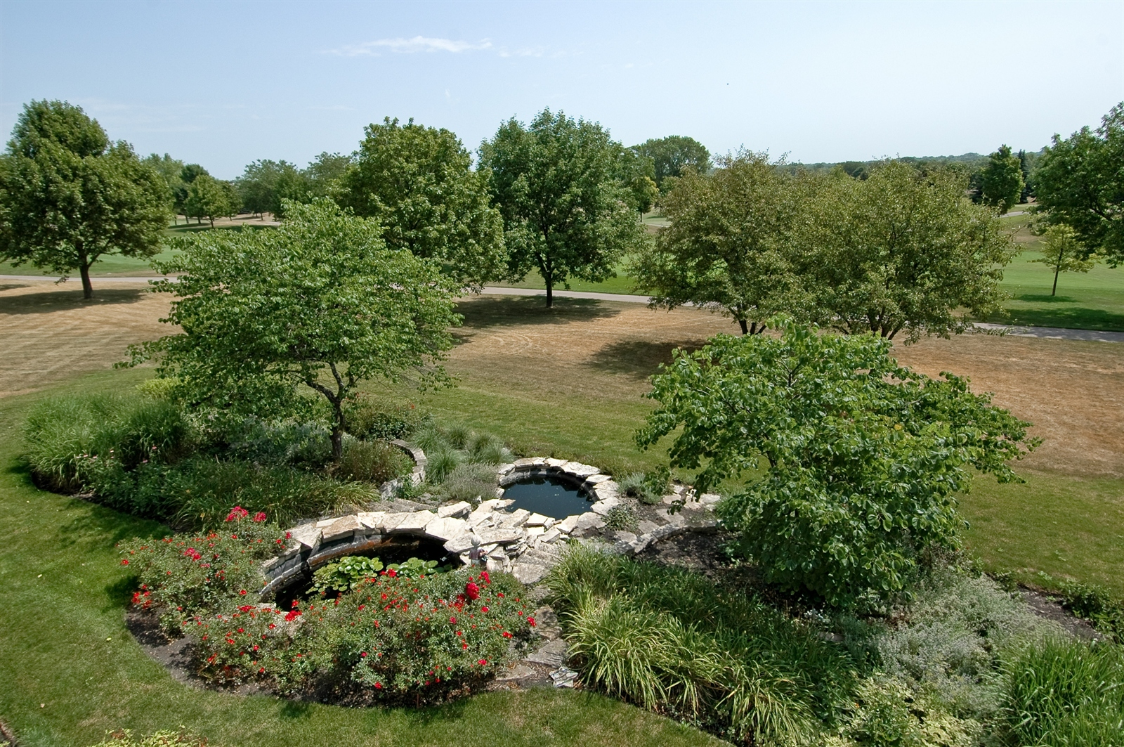 Real Estate Photography - 420 Mason Ln, Lake in the Hills, IL, 60156 - Back Yard
