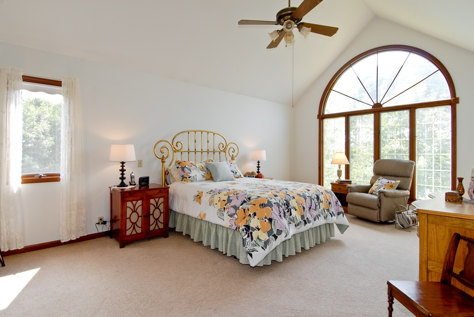 Real Estate Photography - 37W786 McKee St, Batavia, IL, 60510 - Master Bedroom