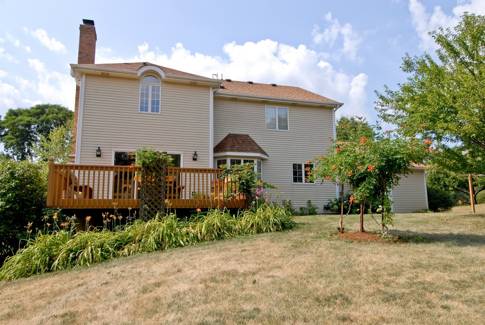 Real Estate Photography - 37W786 McKee St, Batavia, IL, 60510 - Rear View