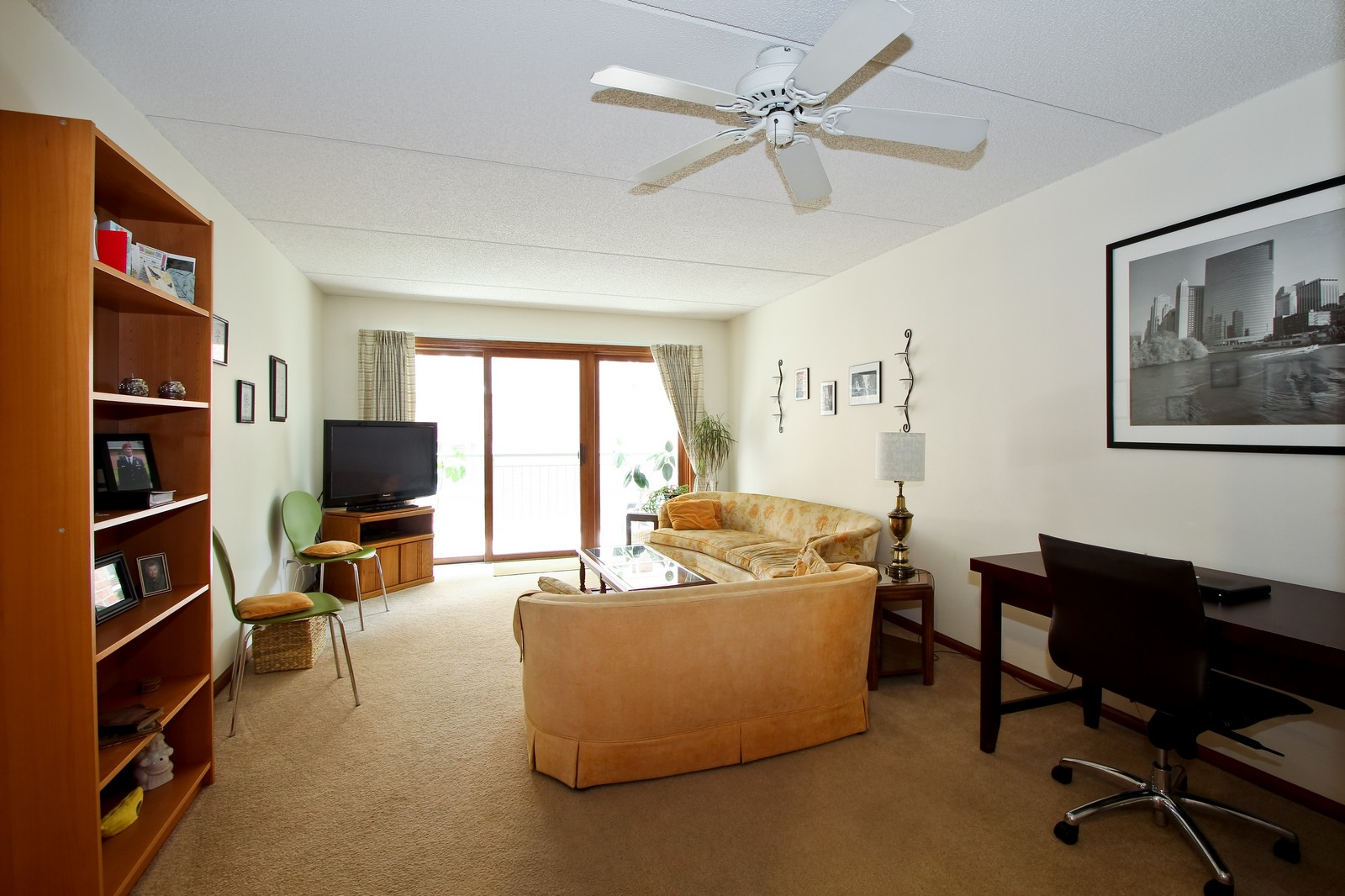 Real Estate Photography - 5340 N Lowell Ave, Unit 206, Chicago, IL, 60630 - Living Room