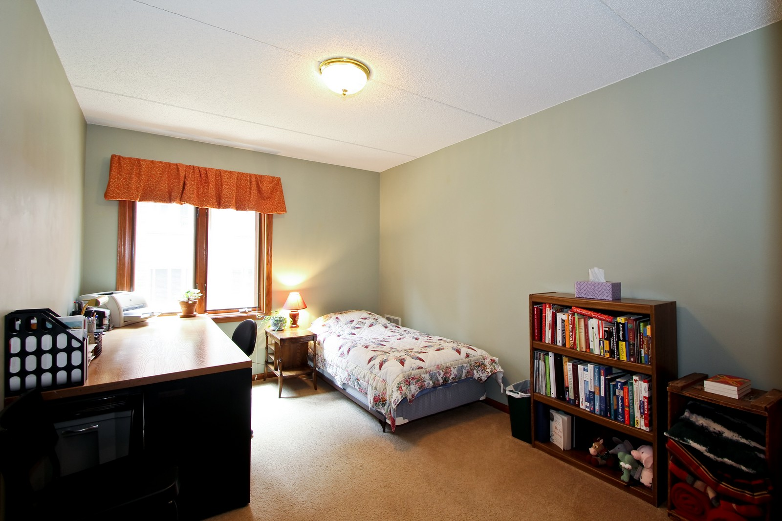 Real Estate Photography - 5340 N Lowell Ave, Unit 206, Chicago, IL, 60630 - 2nd Bedroom