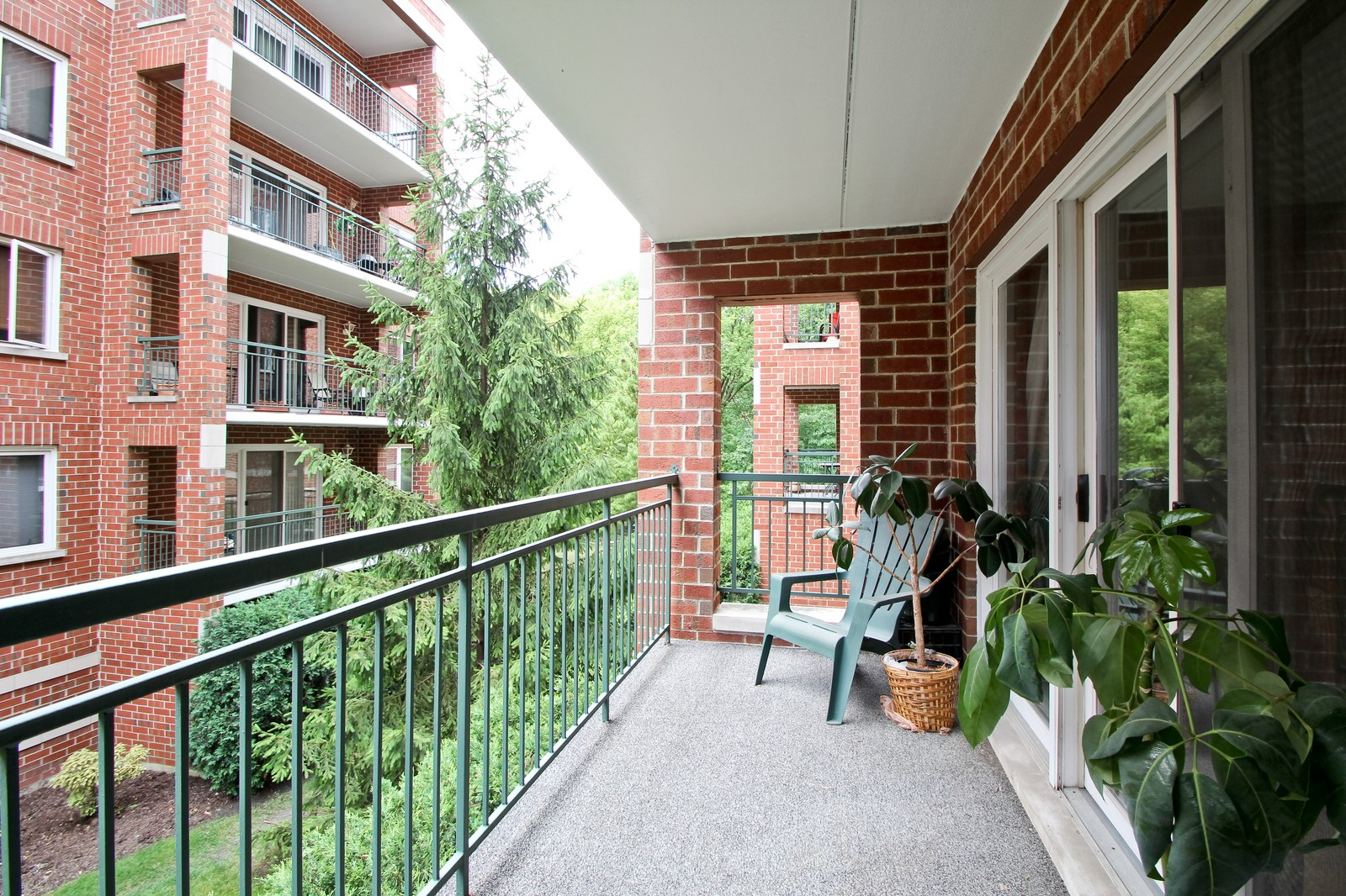 Real Estate Photography - 5340 N Lowell Ave, Unit 206, Chicago, IL, 60630 - Balcony