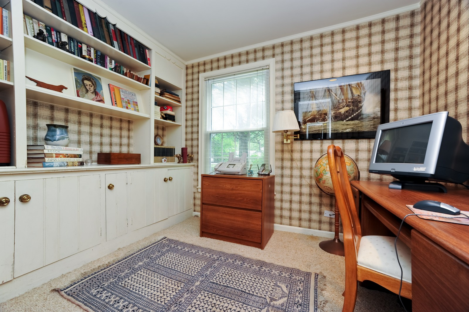 Real Estate Photography - 220 Braeburn Ave, Highland Park, IL, 60035 - Office