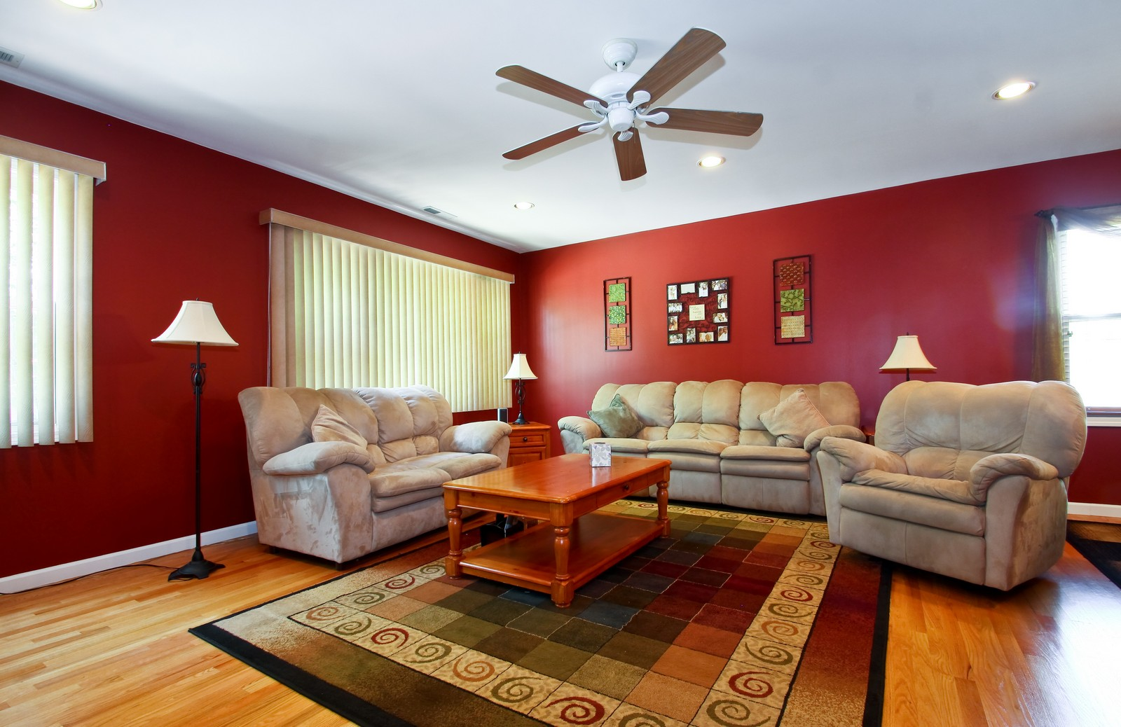 Real Estate Photography - 6071 N Caldwell, Chicago, IL, 60646 - Living Room