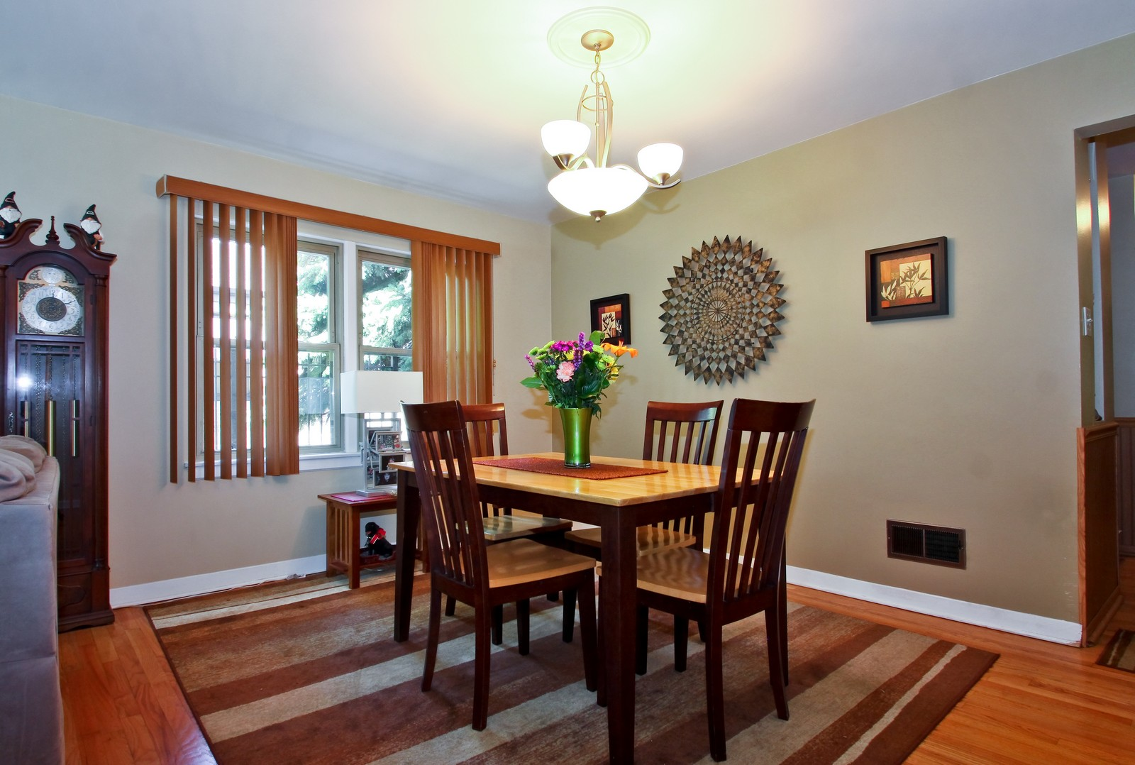 Real Estate Photography - 6071 N Caldwell, Chicago, IL, 60646 - Dining Room
