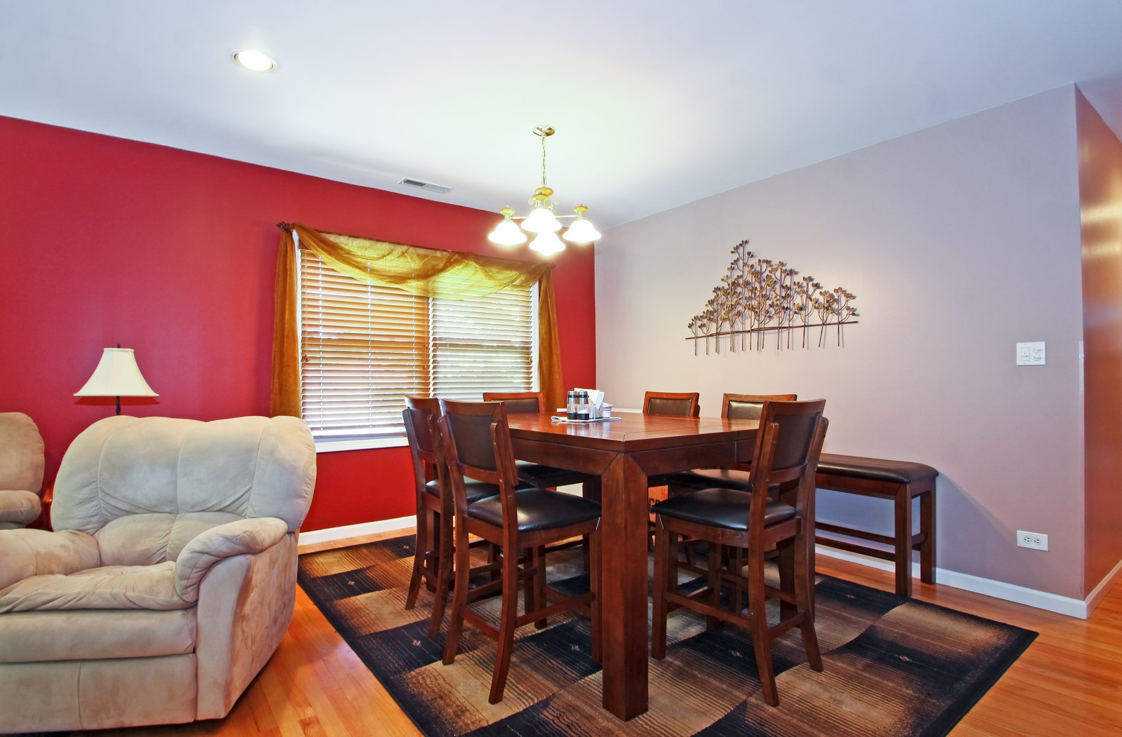 Real Estate Photography - 6071 N Caldwell, Chicago, IL, 60646 - Dining Area