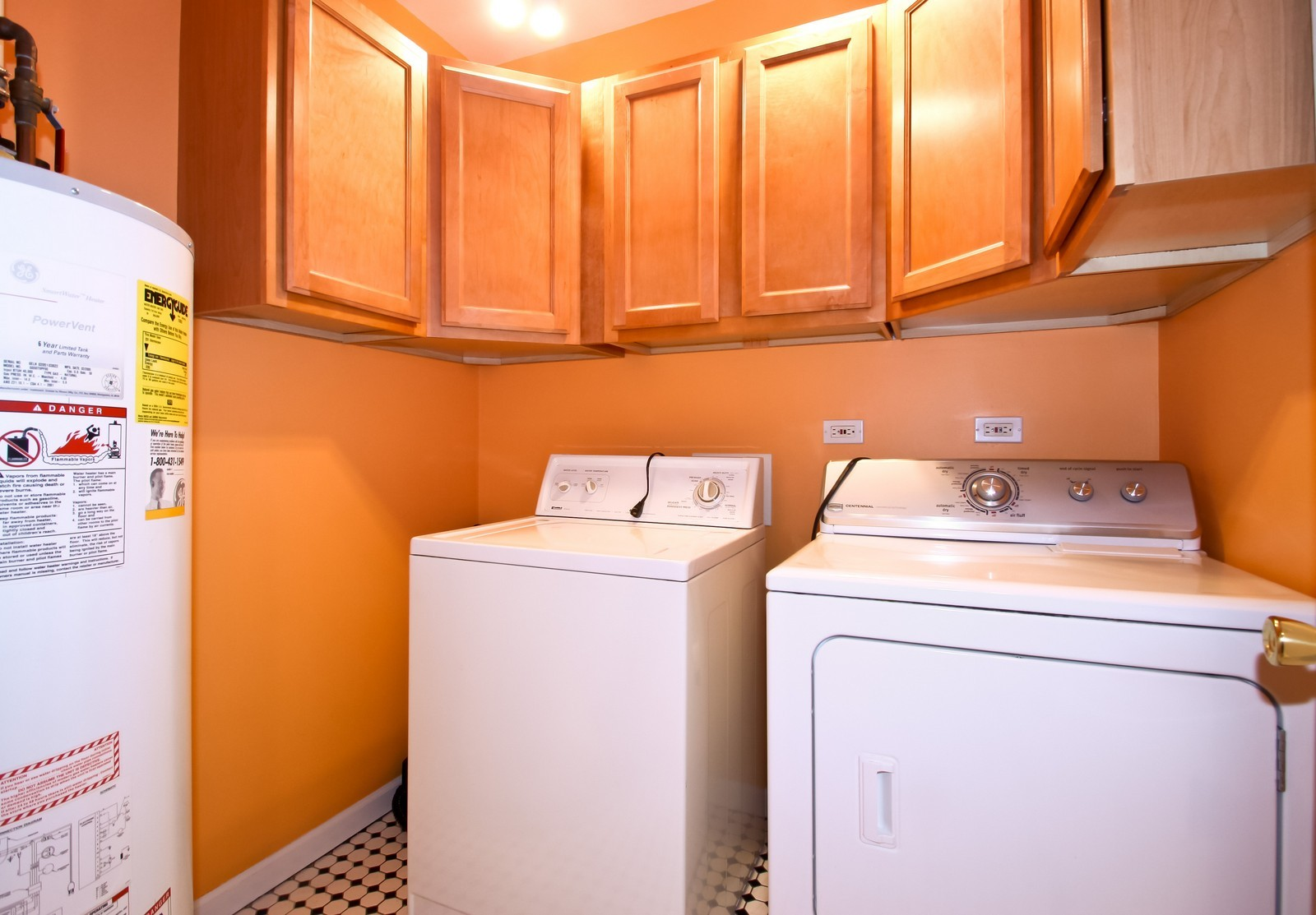 Real Estate Photography - 6071 N Caldwell, Chicago, IL, 60646 - Laundry Room