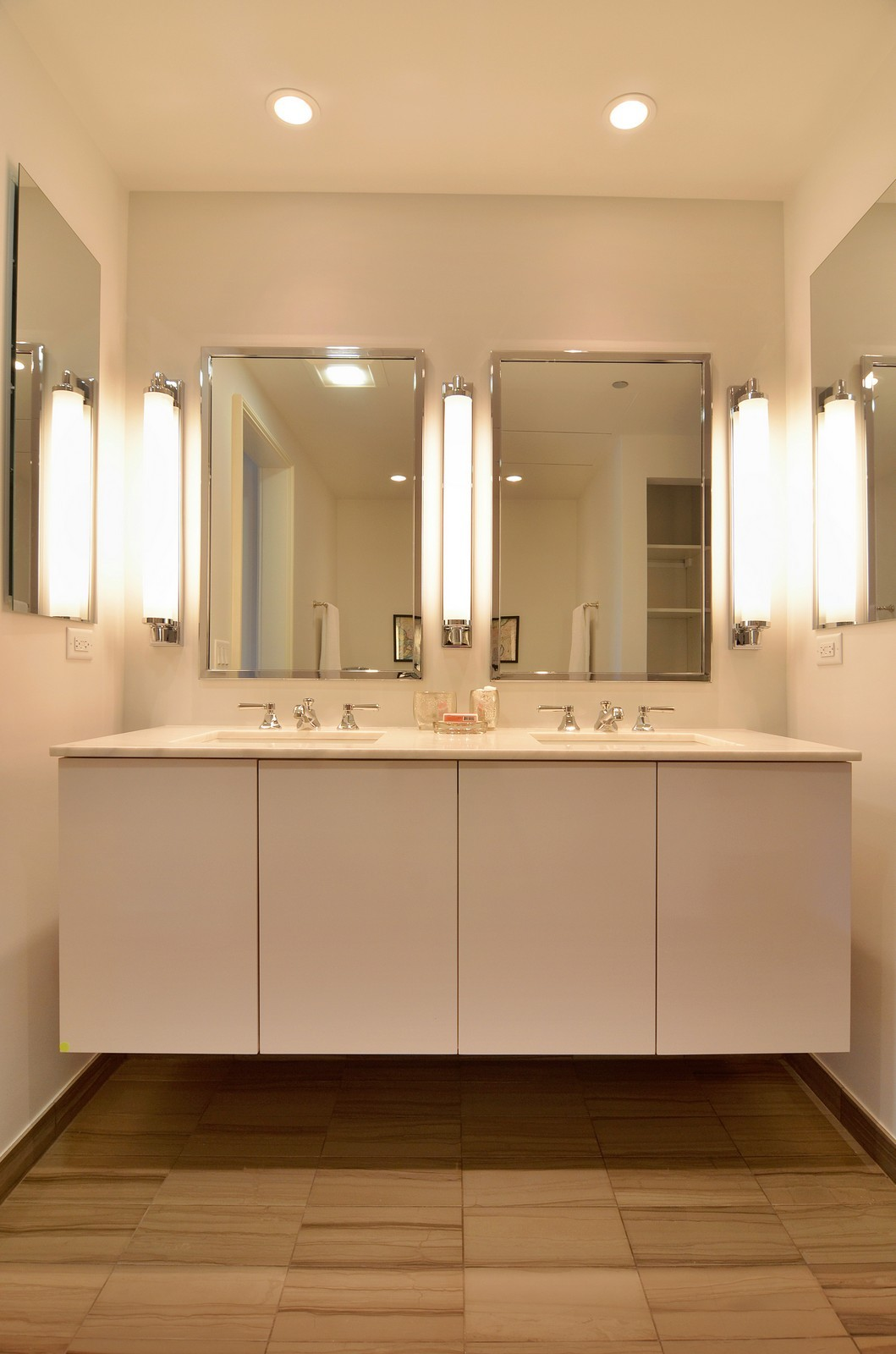 Real Estate Photography - 318 S Michigan Ave, Unit 300, Chicago, IL, 60604 - Master Bathroom