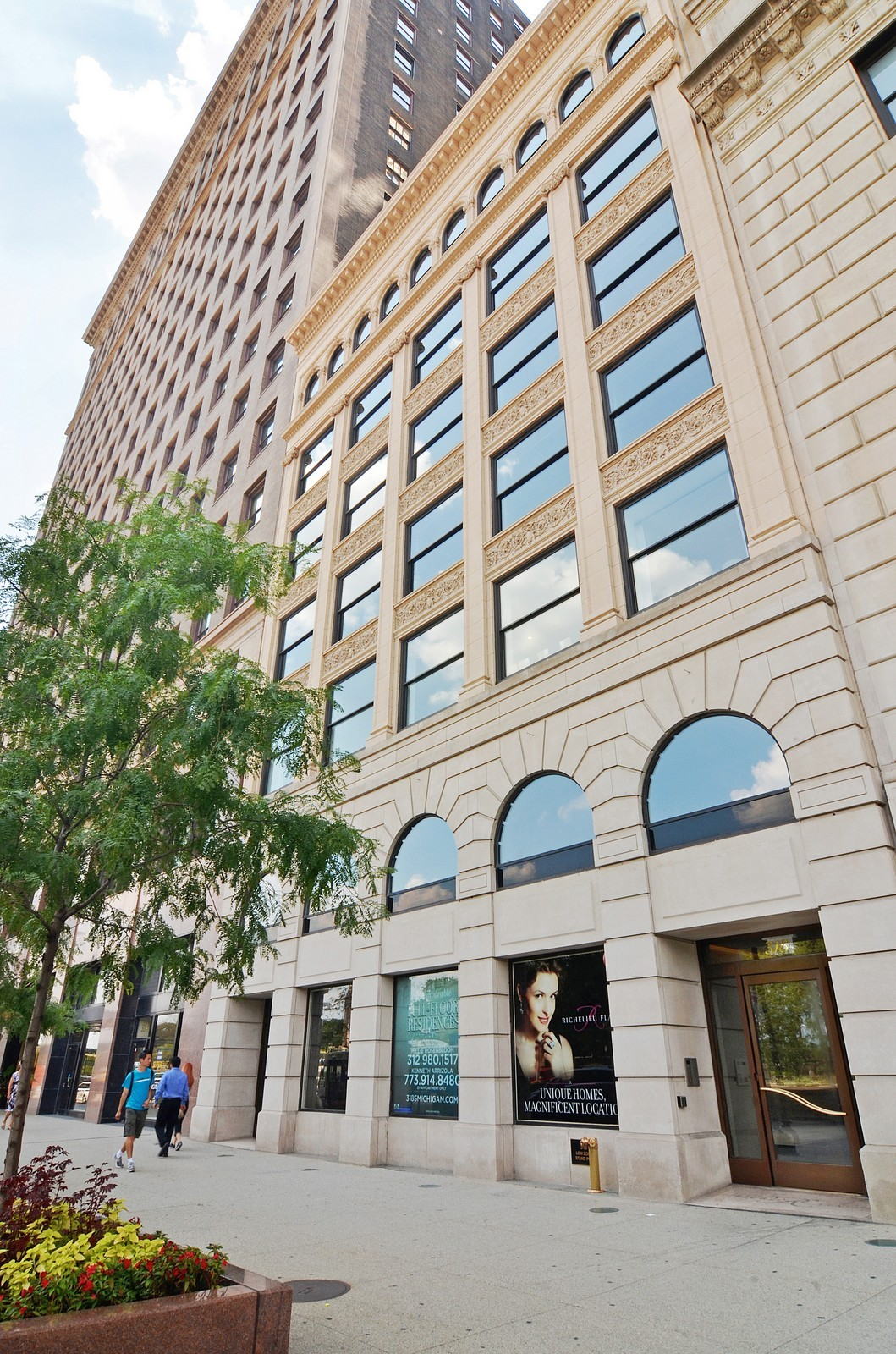 Real Estate Photography - 318 S Michigan Ave, Unit 300, Chicago, IL, 60604 - Front View