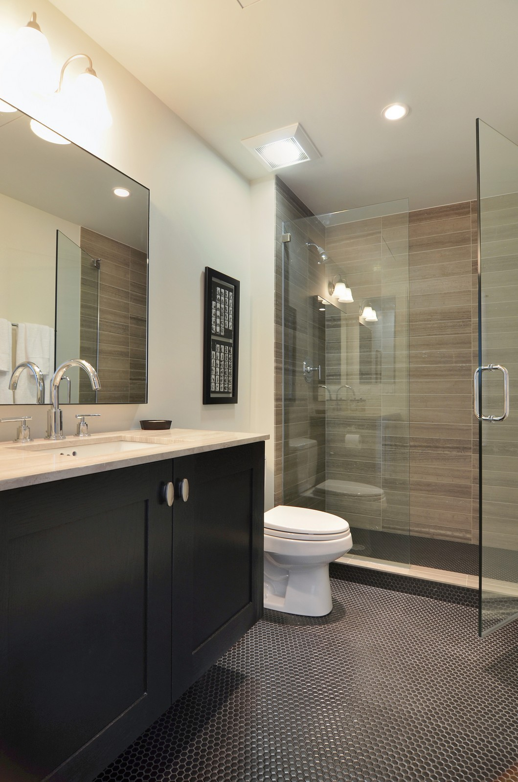 Real Estate Photography - 318 S Michigan Ave, Unit 300, Chicago, IL, 60604 - 2nd Bathroom
