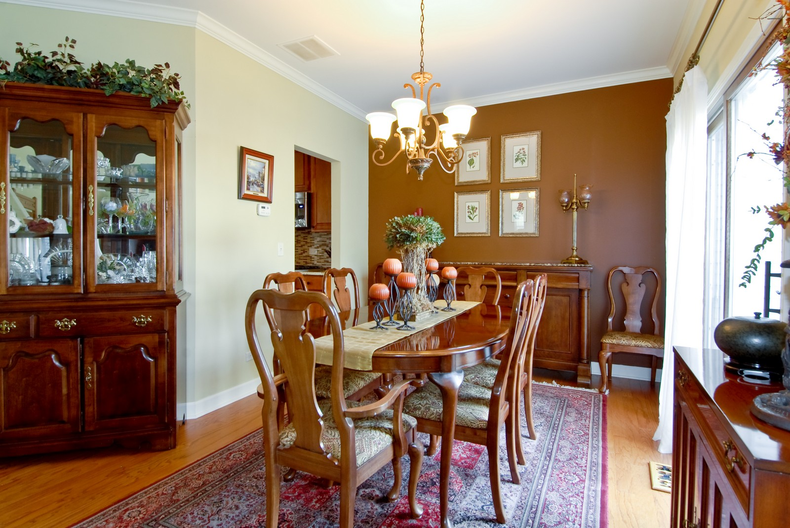 Real Estate Photography - 1222 Rhodes Ln, Naperville, IL, 60540 - Dining Room