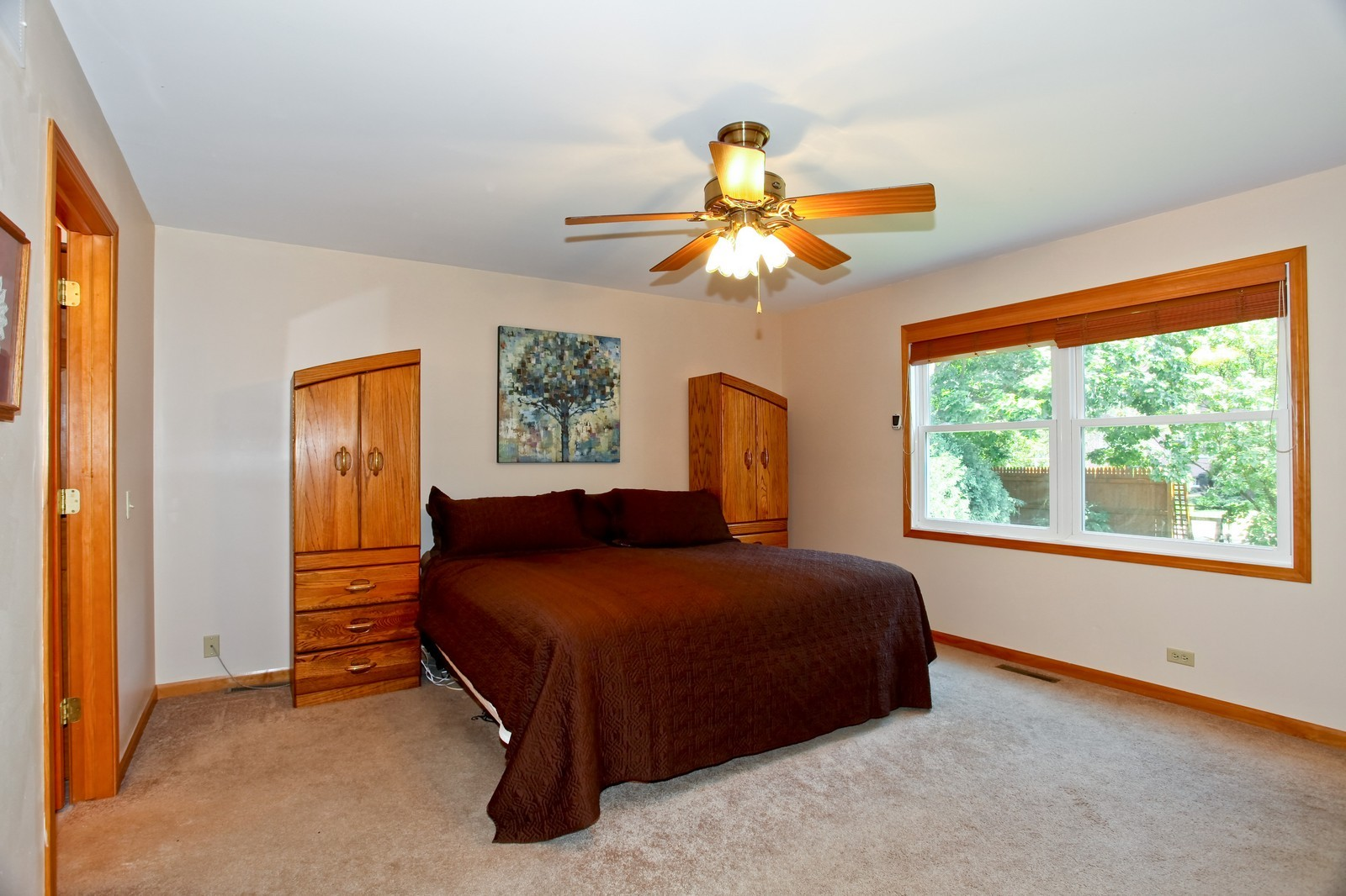 Real Estate Photography - 307 S East St, Earlville, IL, 60518 - Master Bedroom