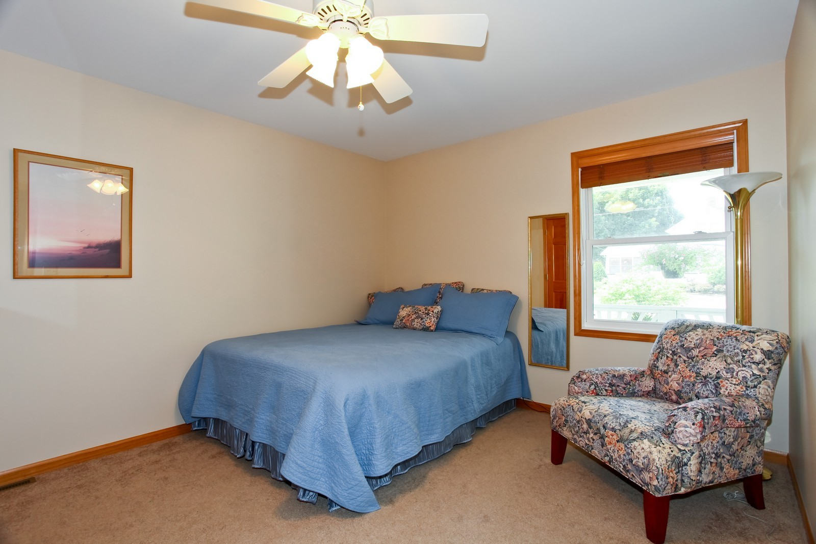 Real Estate Photography - 307 S East St, Earlville, IL, 60518 - 2nd Bedroom