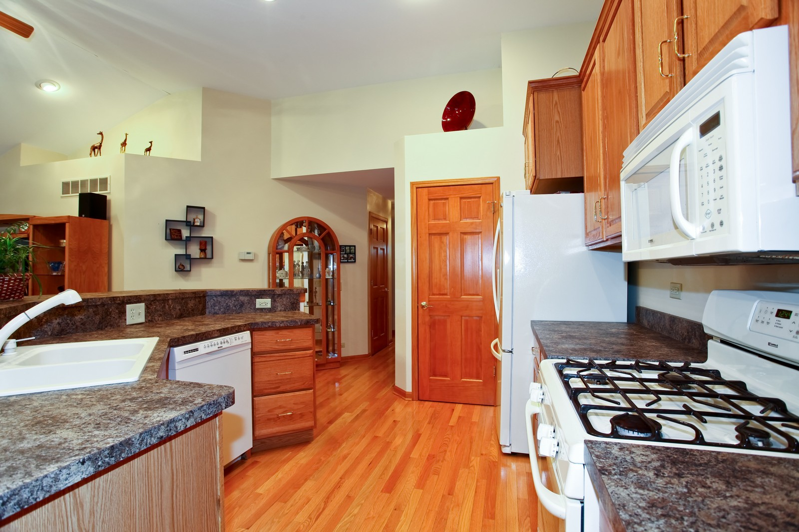 Real Estate Photography - 307 S East St, Earlville, IL, 60518 - Kitchen