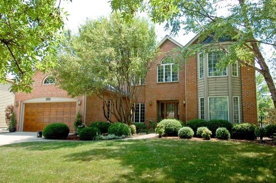 Front View photograph of 920 Sanctuary Lane Naperville Illinois 60540