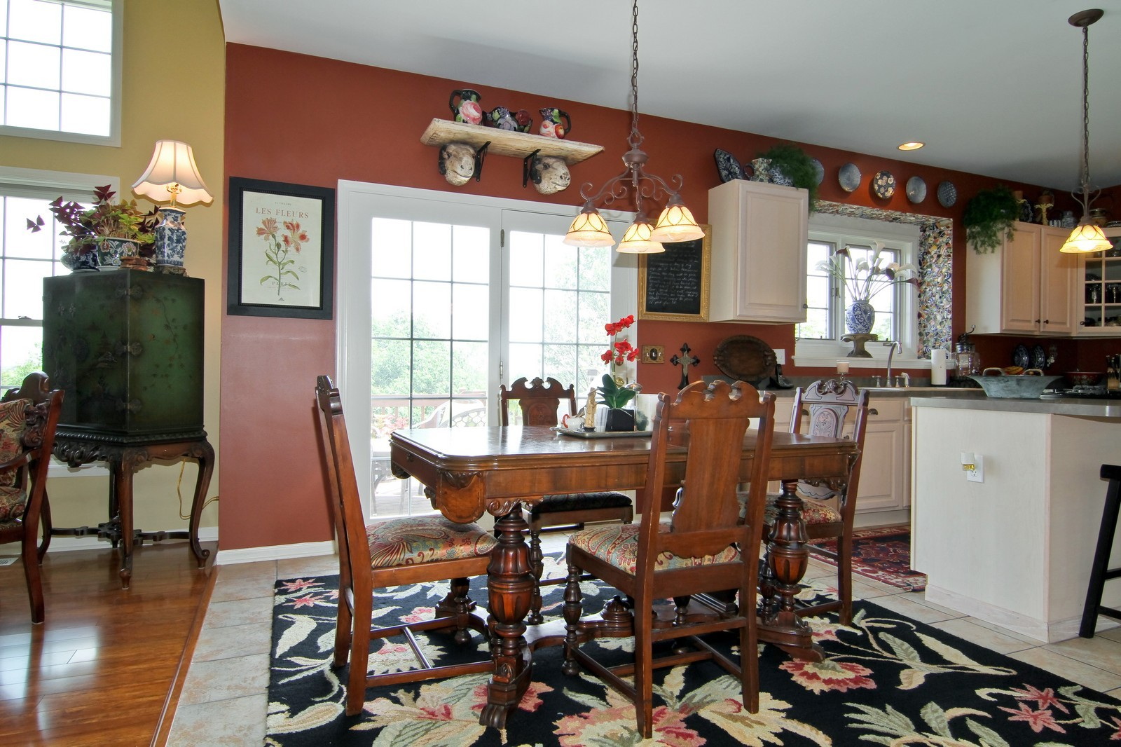 Real Estate Photography - 0N837 E Curtis Square, Geneva, IL, 60134 - Breakfast Area