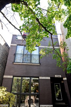 Front View photograph of 2241 W Roscoe St Unit 2 Chicago Illinois 60618