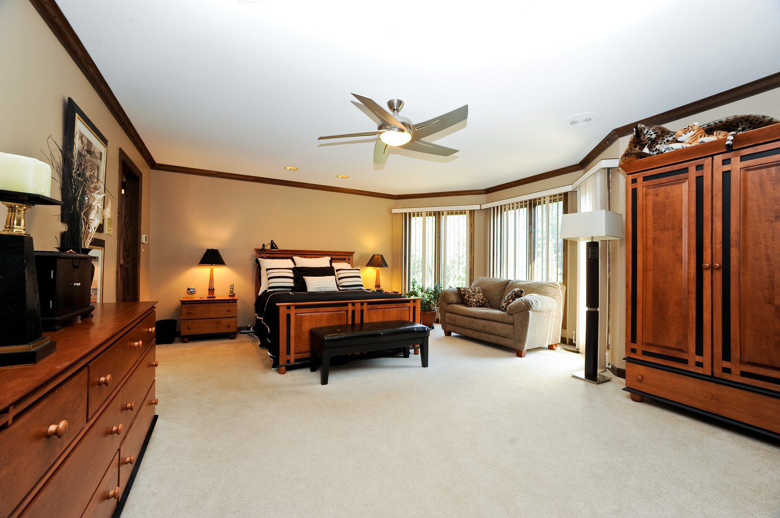 Real Estate Photography - 513 Claire Lane, Prospect Heights, IL, 60070 - Master Bedroom