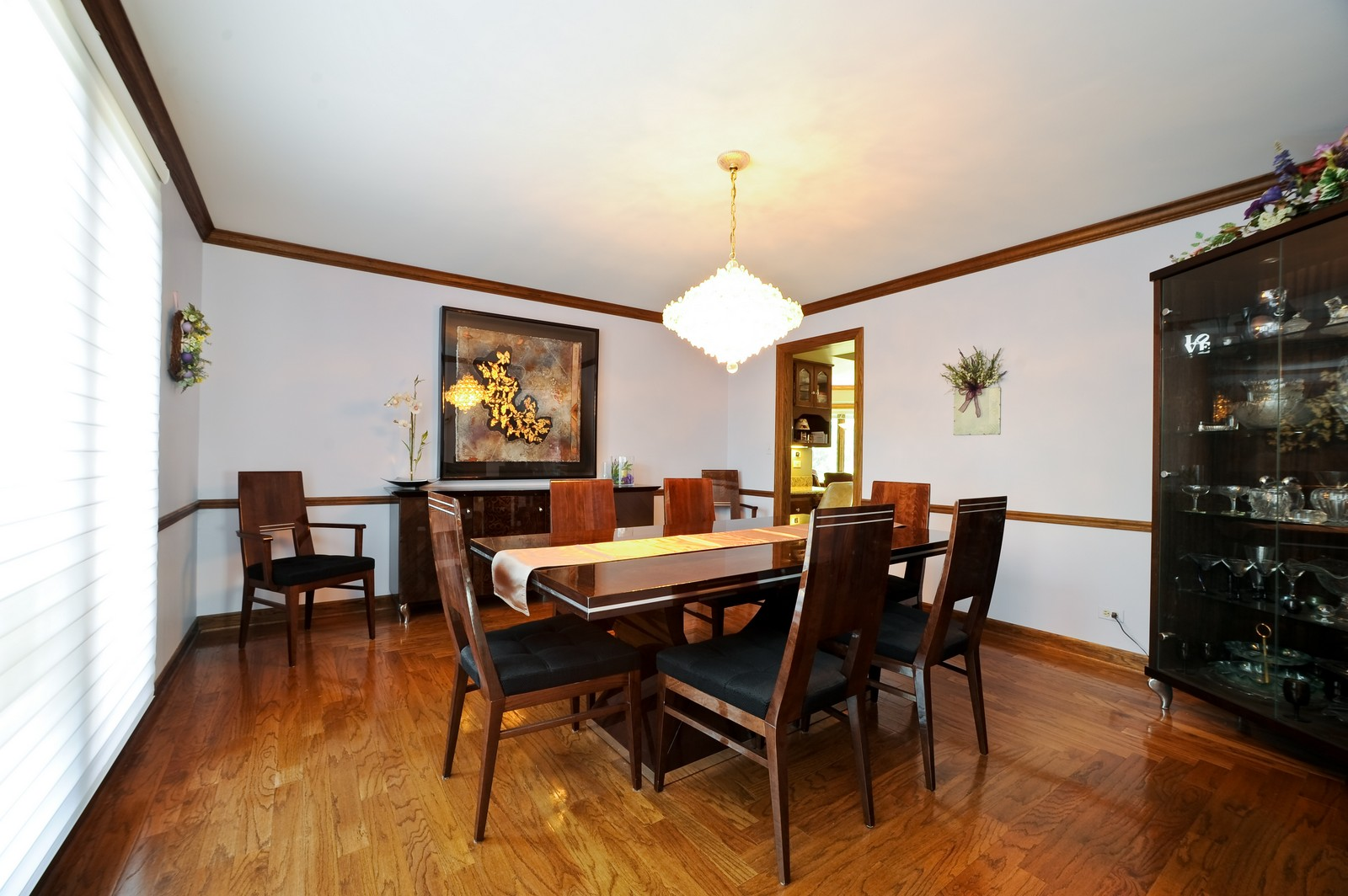 Real Estate Photography - 513 Claire Lane, Prospect Heights, IL, 60070 - Dining Room