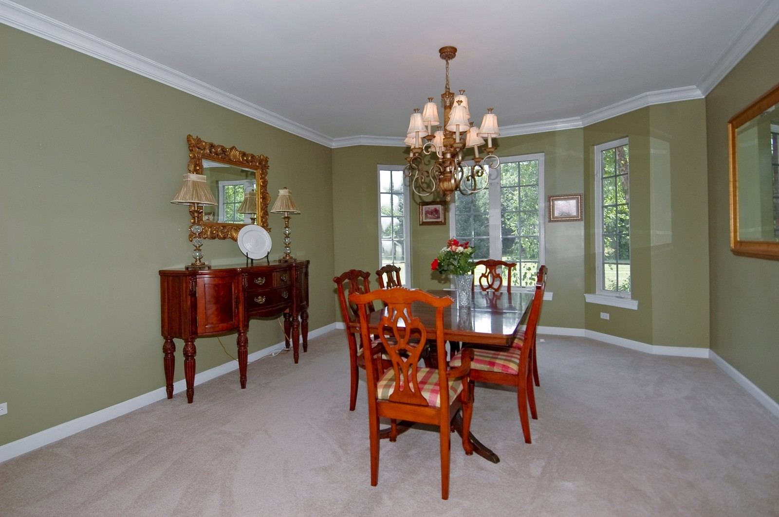 Real Estate Photography - 4215 Alex, Crystal Lake, IL, 60014 - Dining Room