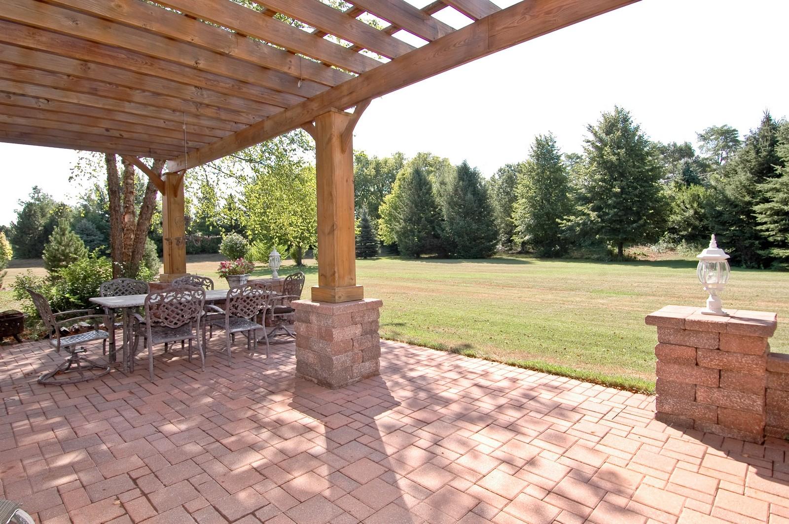 Real Estate Photography - 4215 Alex, Crystal Lake, IL, 60014 - Back Yard