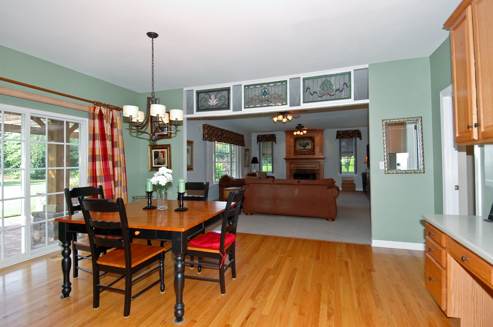 Real Estate Photography - 4215 Alex, Crystal Lake, IL, 60014 - Family Room / Kitchen