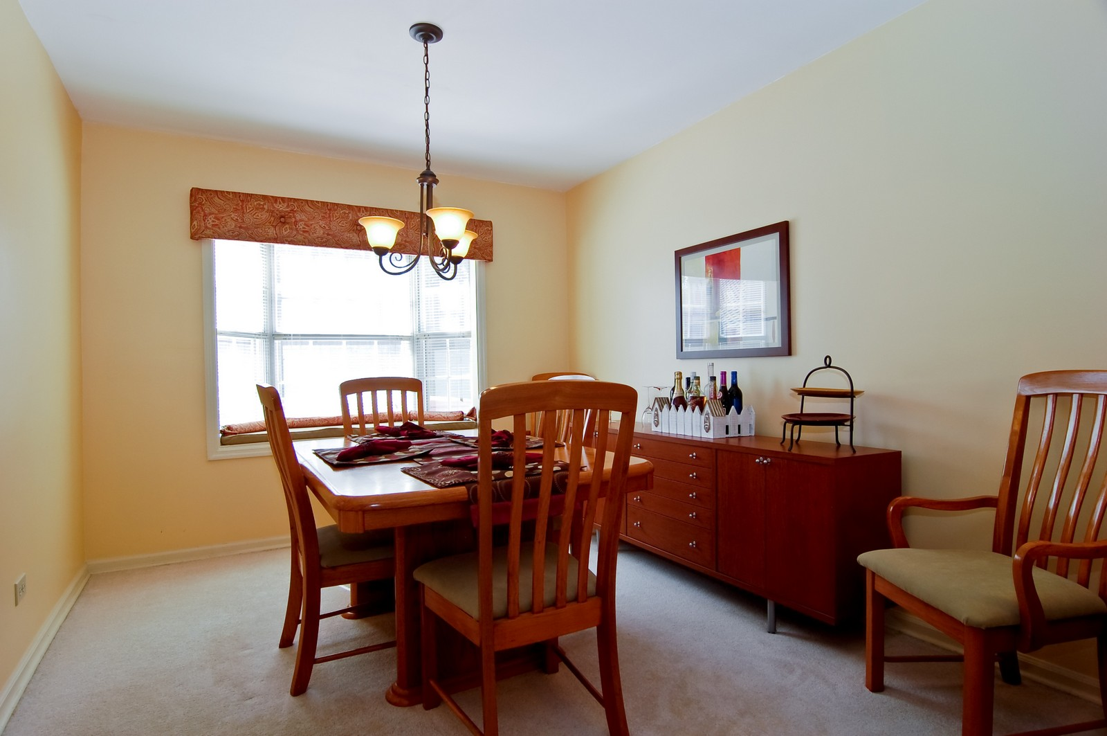 Real Estate Photography - 315 Kensington, Streamwood, IL, 60107 - Dining Room