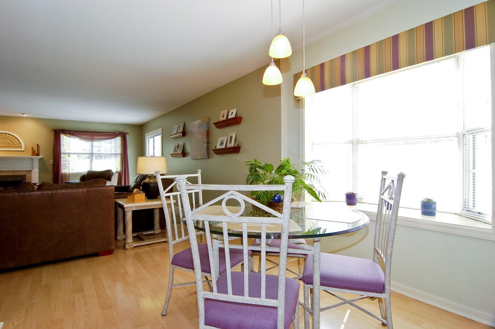 Real Estate Photography - 315 Kensington, Streamwood, IL, 60107 - Breakfast Nook