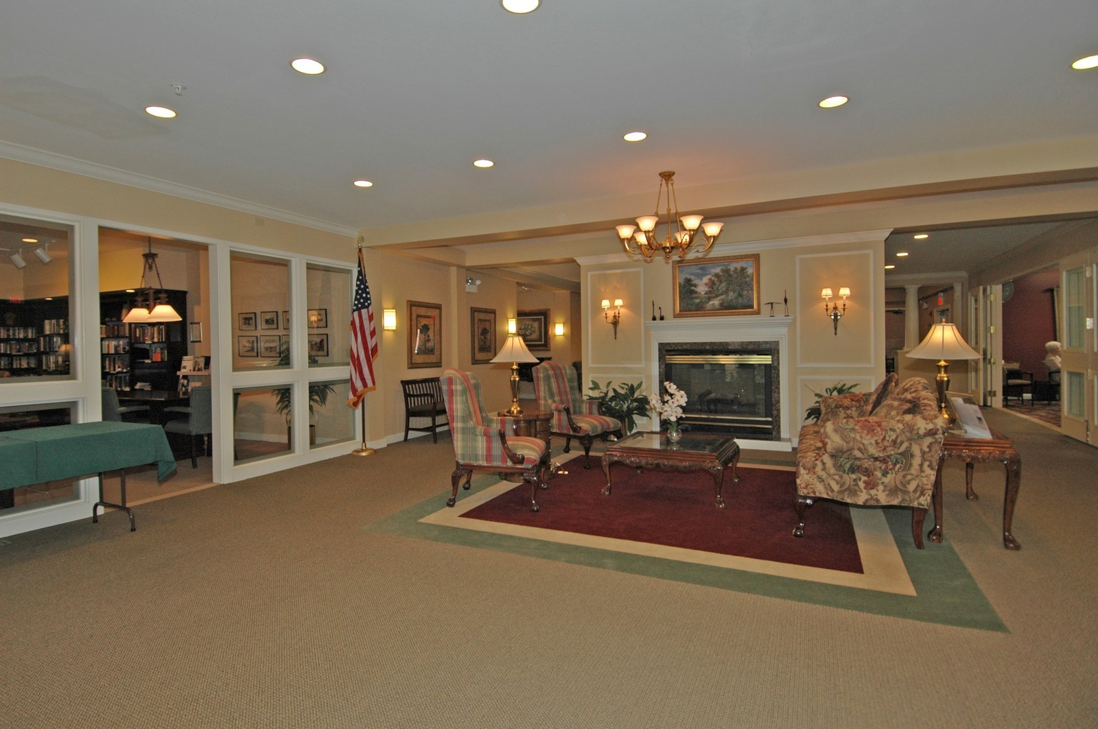 Real Estate Photography - 605 Barrington Ave, Unit 216, East Dundee, IL, 60118 - Lobby