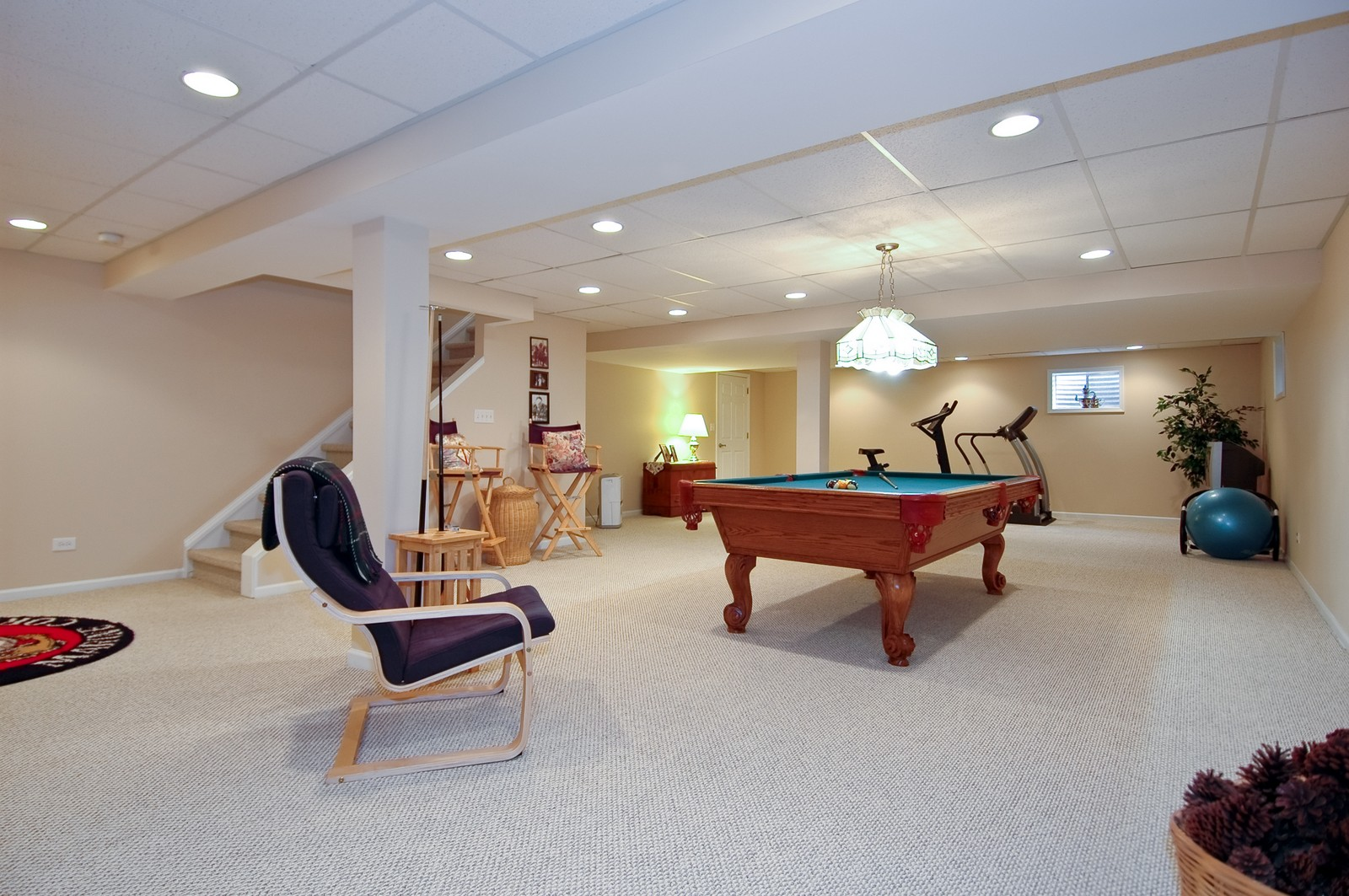 Real Estate Photography - 9015 Loch Glen Dr, Lakewood, IL, 60014 - Lower Level