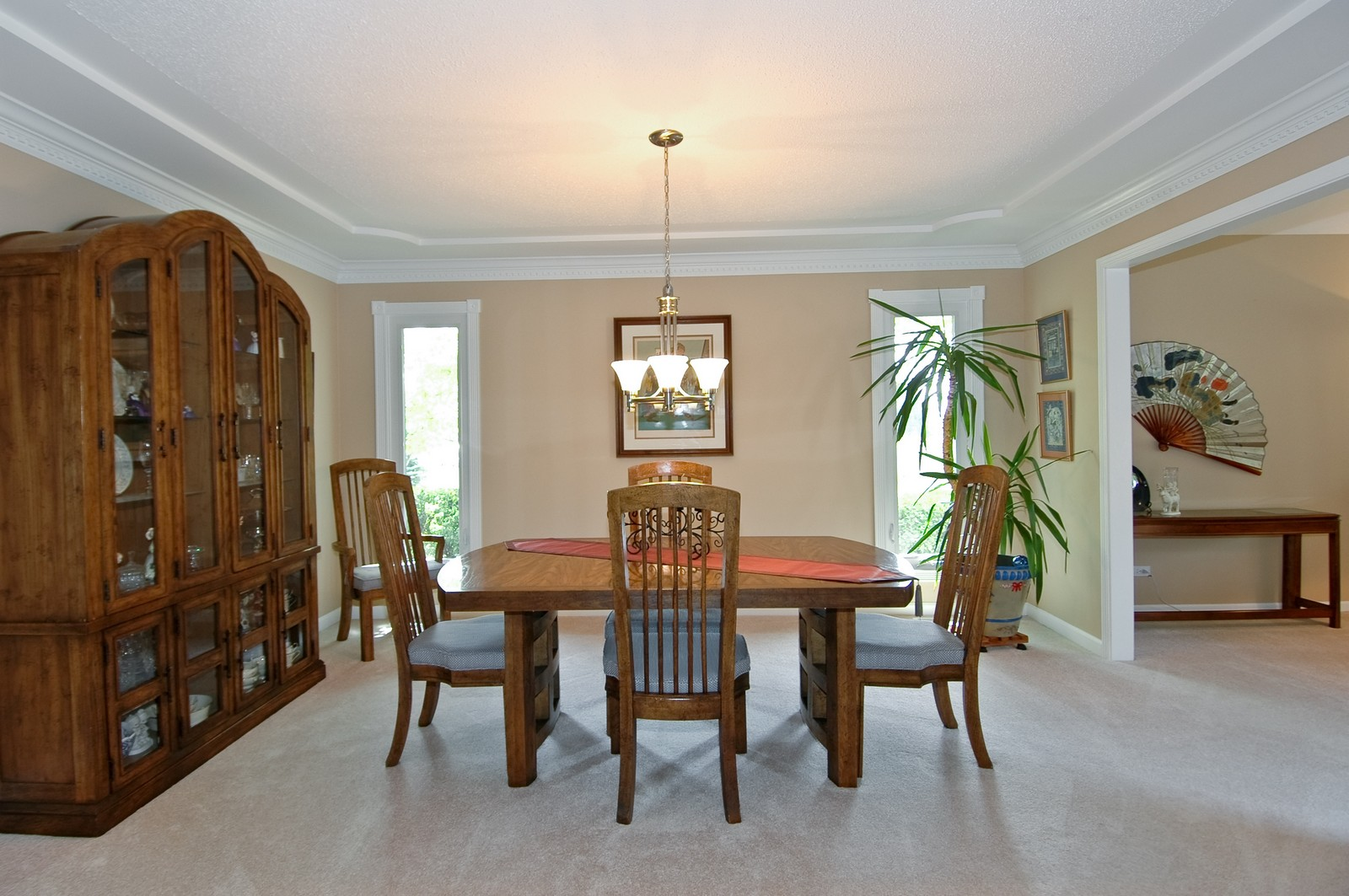 Real Estate Photography - 9015 Loch Glen Dr, Lakewood, IL, 60014 - Dining Room