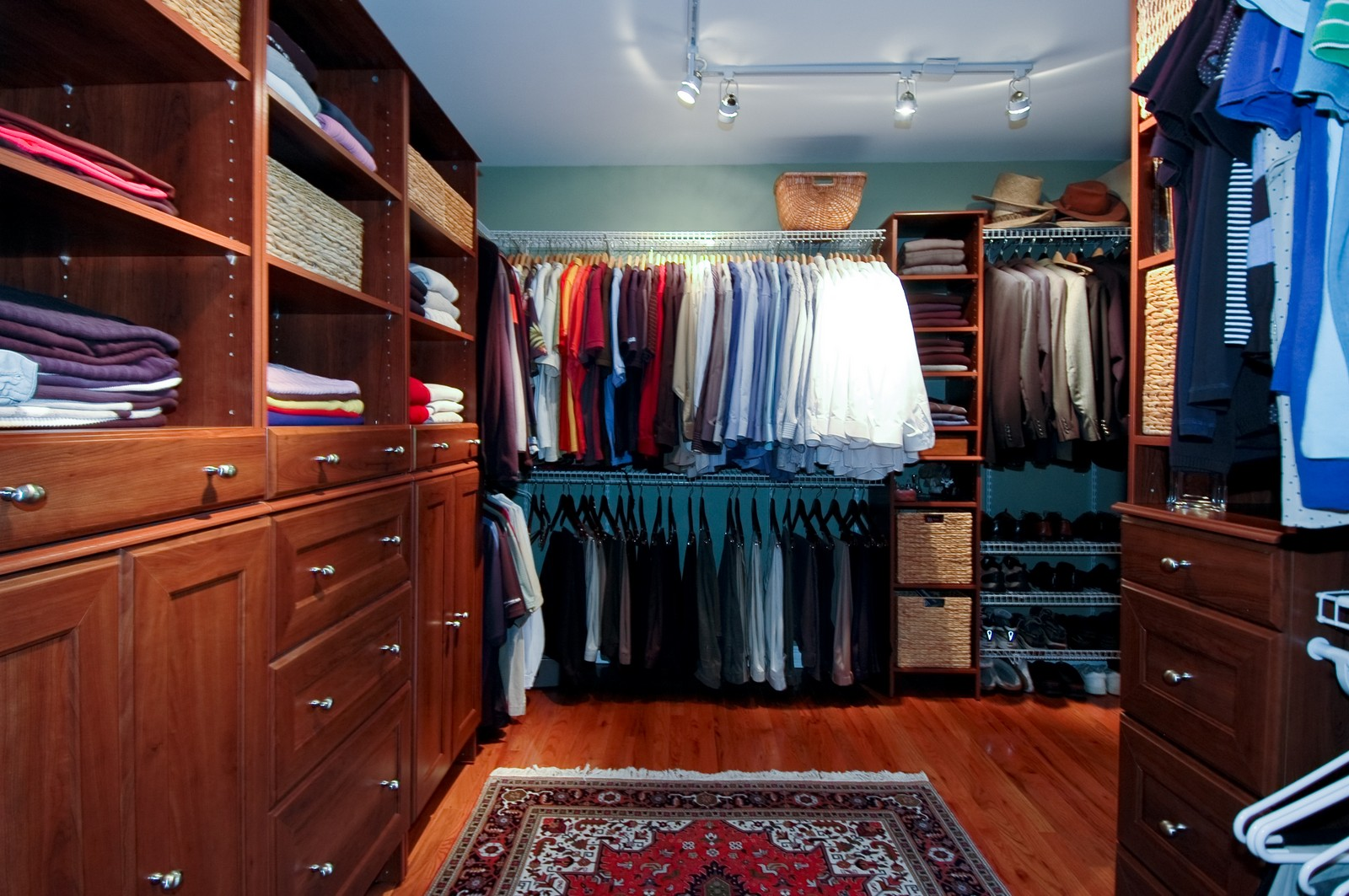 Real Estate Photography - 9015 Loch Glen Dr, Lakewood, IL, 60014 - Master Bedroom Closet