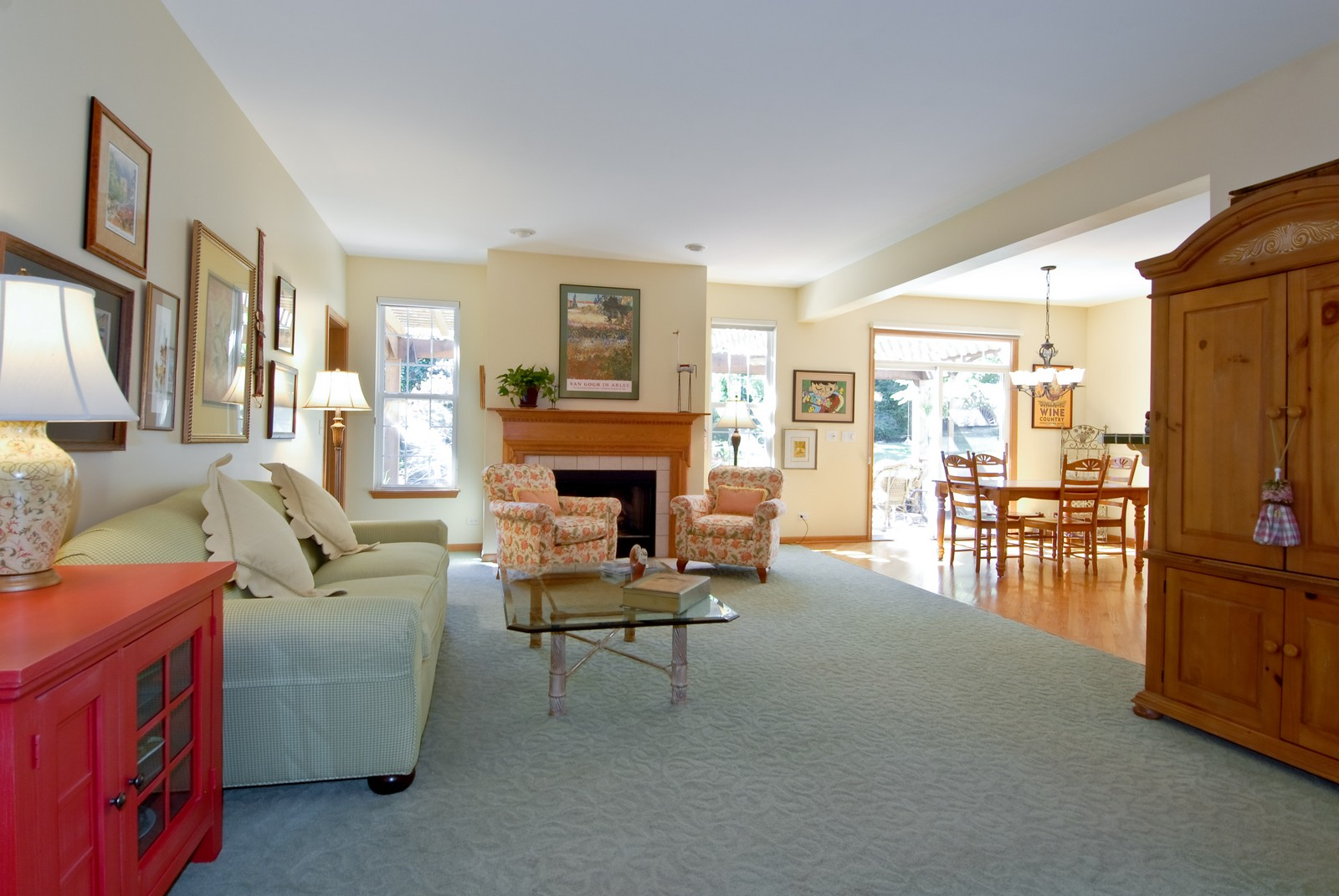 Real Estate Photography - 804 Viewpointe Dr, St Charles, IL, 60174 - Living Room