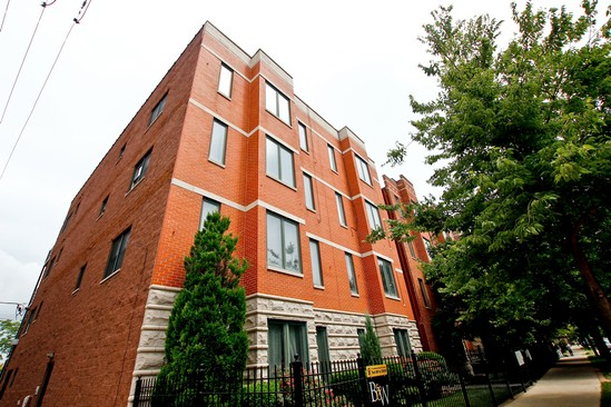Front View photograph of 2344 W Harrison St Unit 1 Chicago Illinois 60612