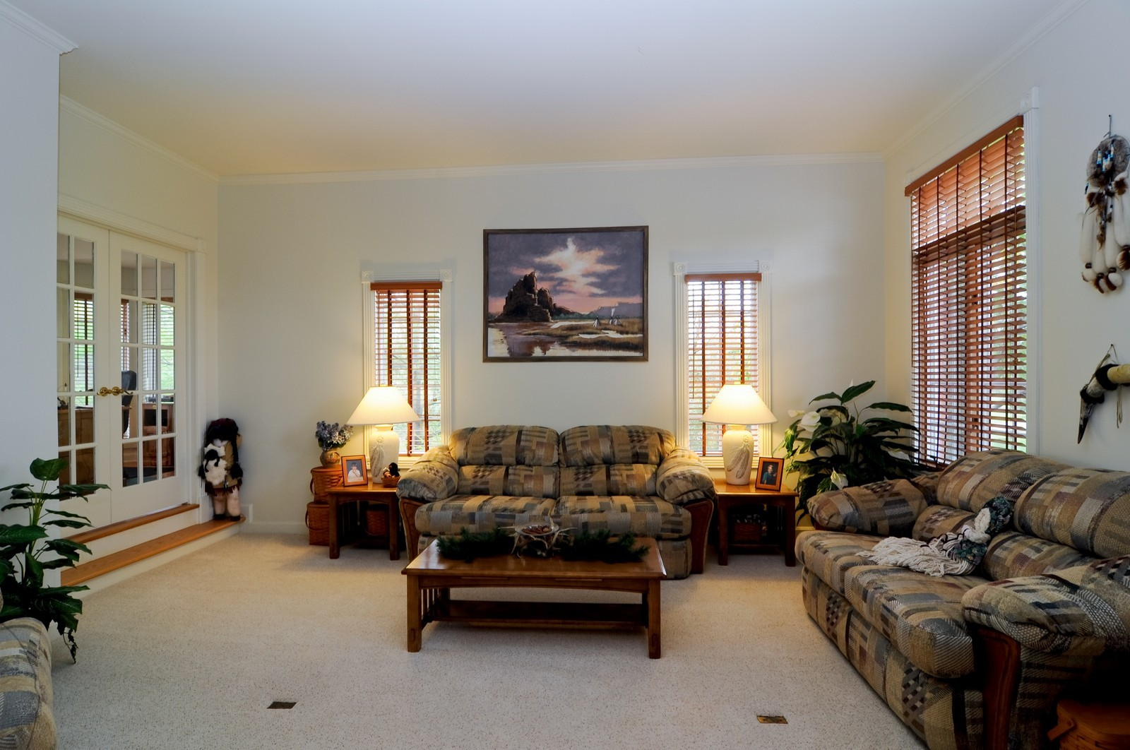 Real Estate Photography - 22988 W Thornhill Ct, Deer Park, IL, 60010 - Living Room
