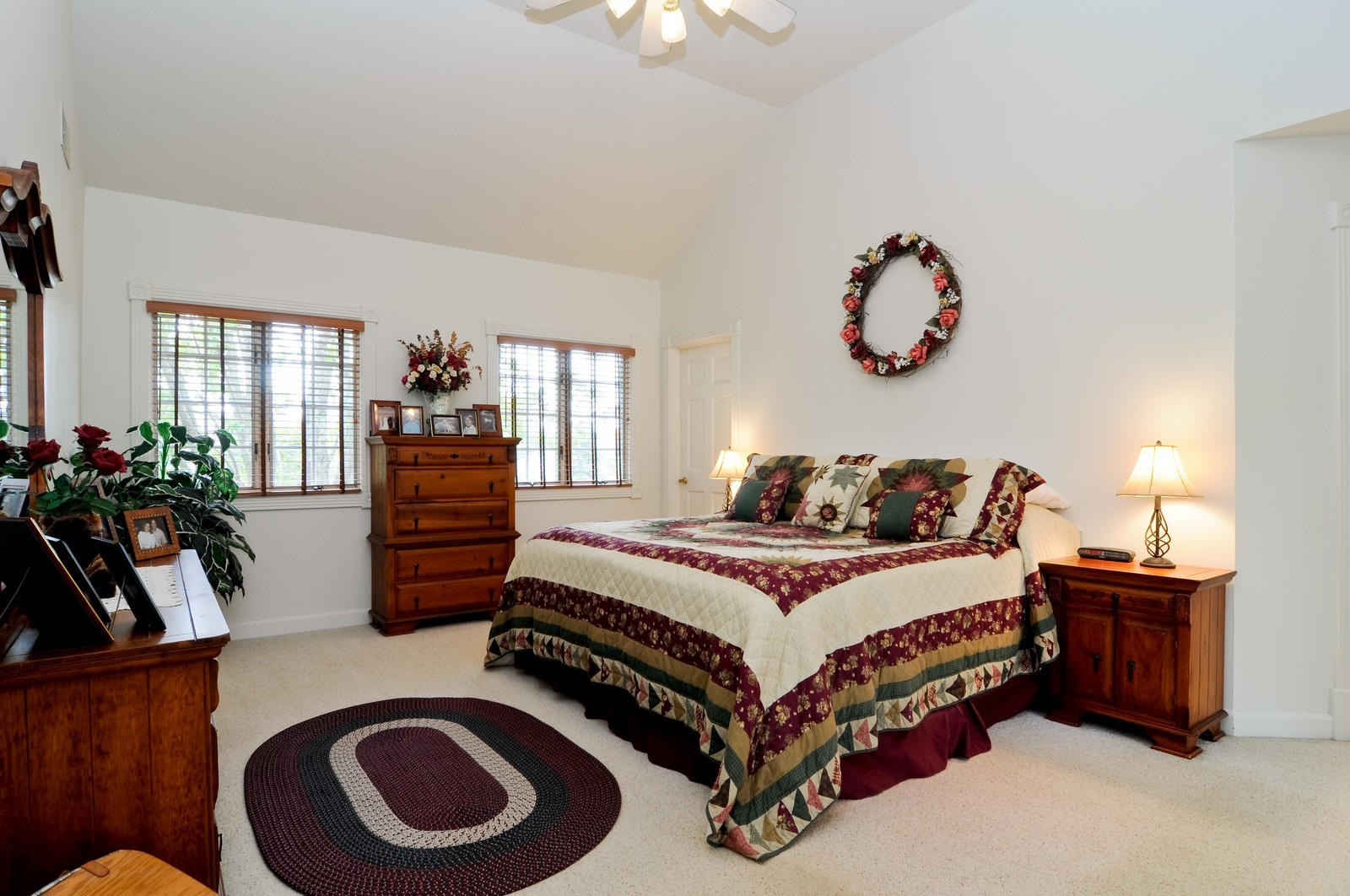 Real Estate Photography - 22988 W Thornhill Ct, Deer Park, IL, 60010 - Master Bedroom